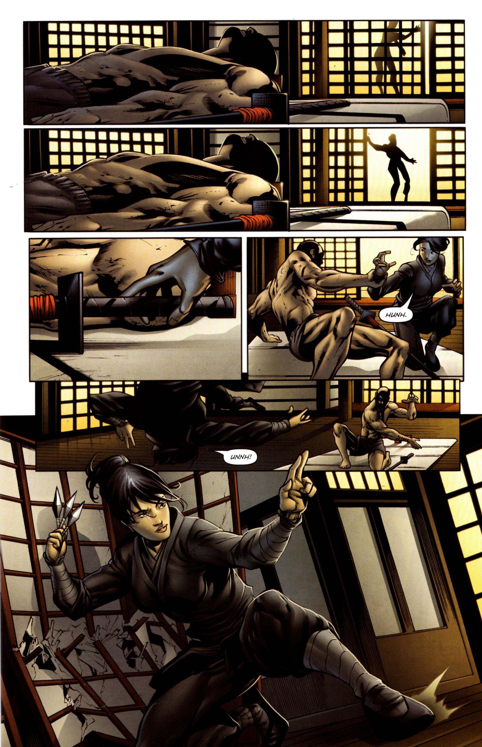 Read online Snake Eyes and Storm Shadow comic -  Issue #13 - 10