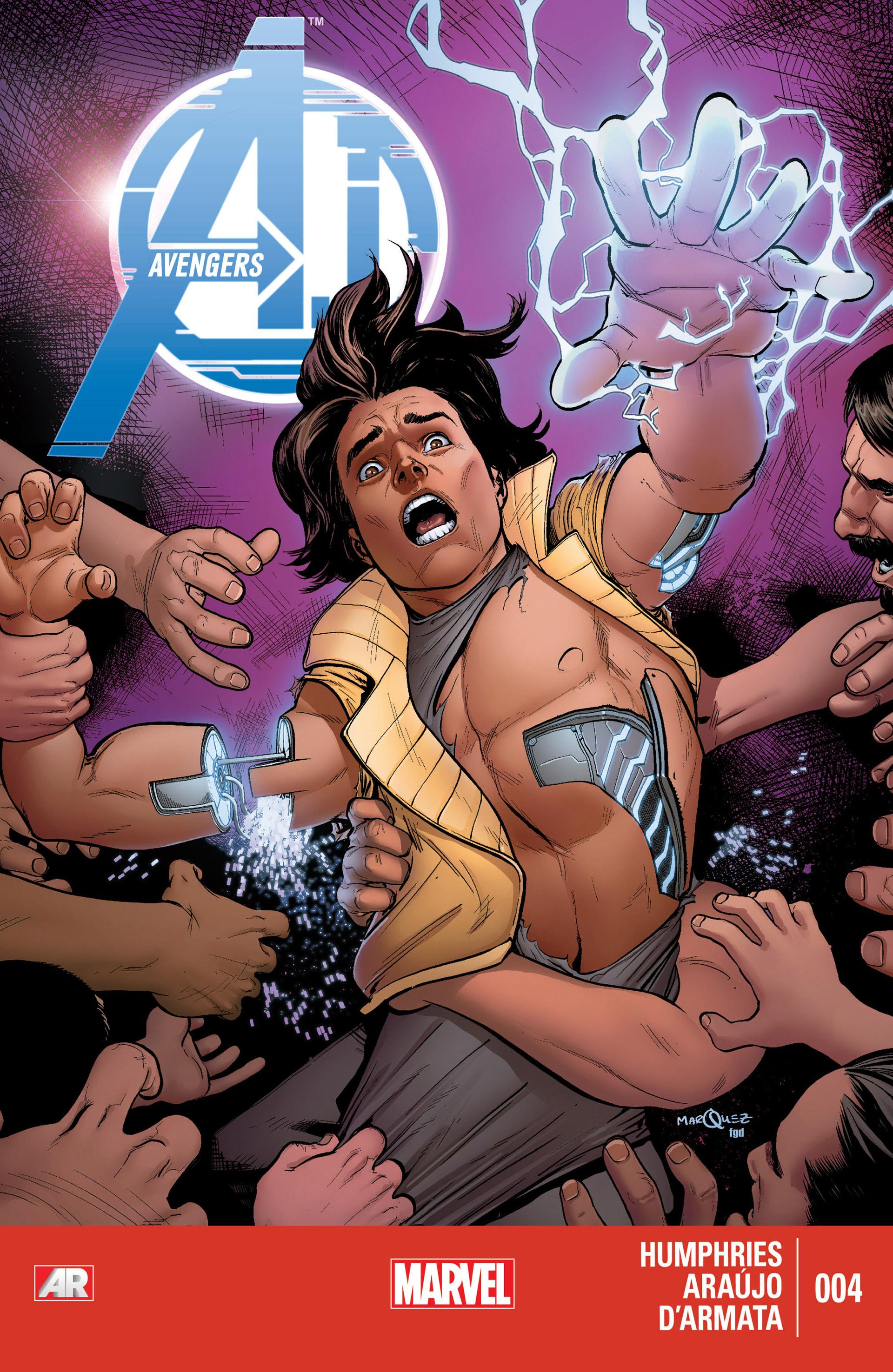 Avengers A.I. 4 Page 1
