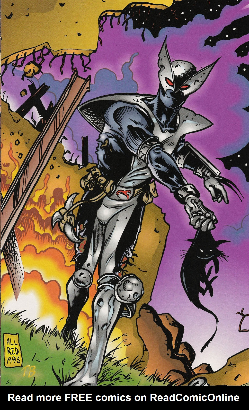 Read online ShadowHawk Gallery comic -  Issue # Full - 9