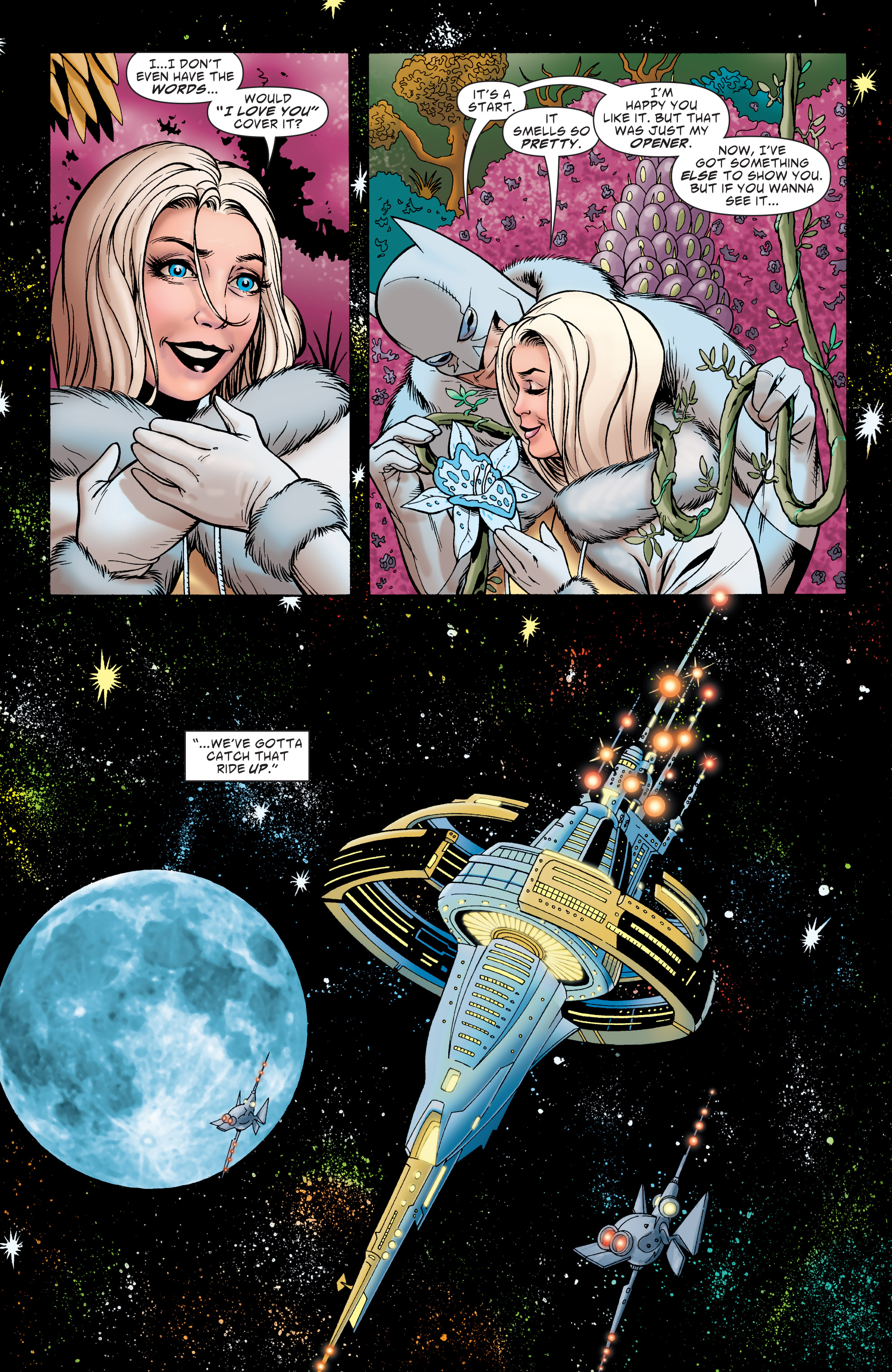 Read online Batman: The Widening Gyre comic -  Issue #6 - 7