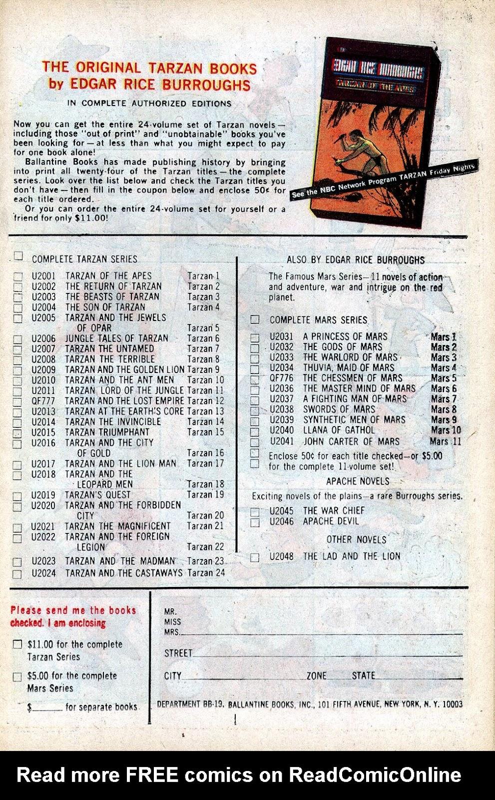 Tarzan (1962) issue 173 - Page 19