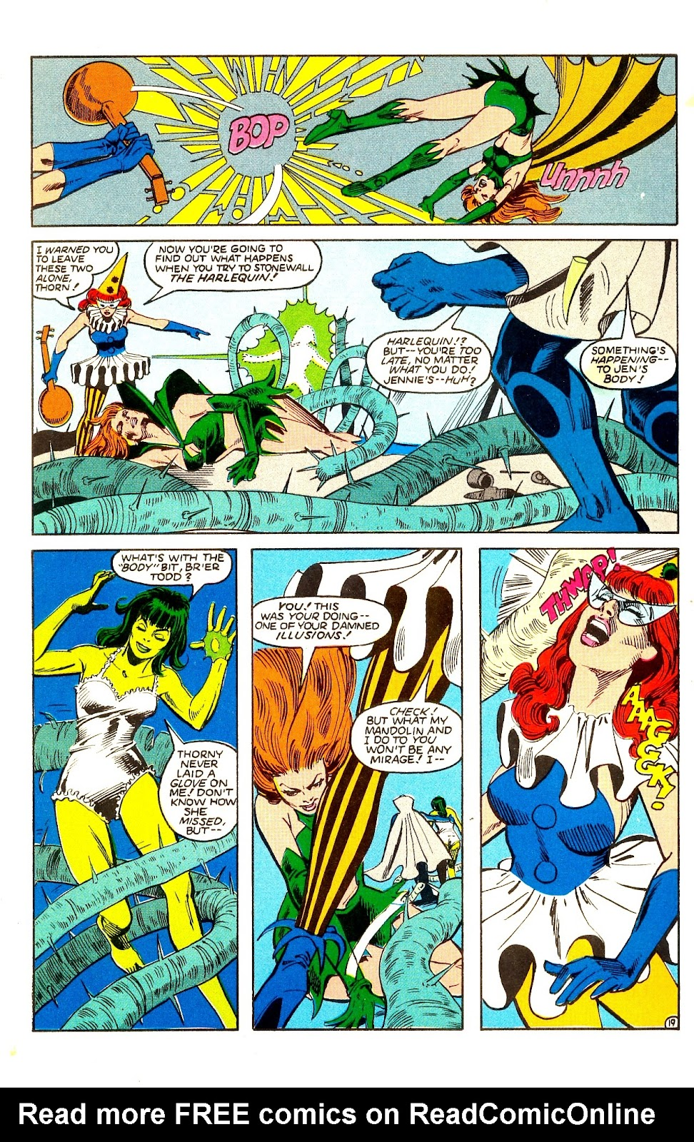 Infinity Inc. (1984) issue Annual 1 - Page 22