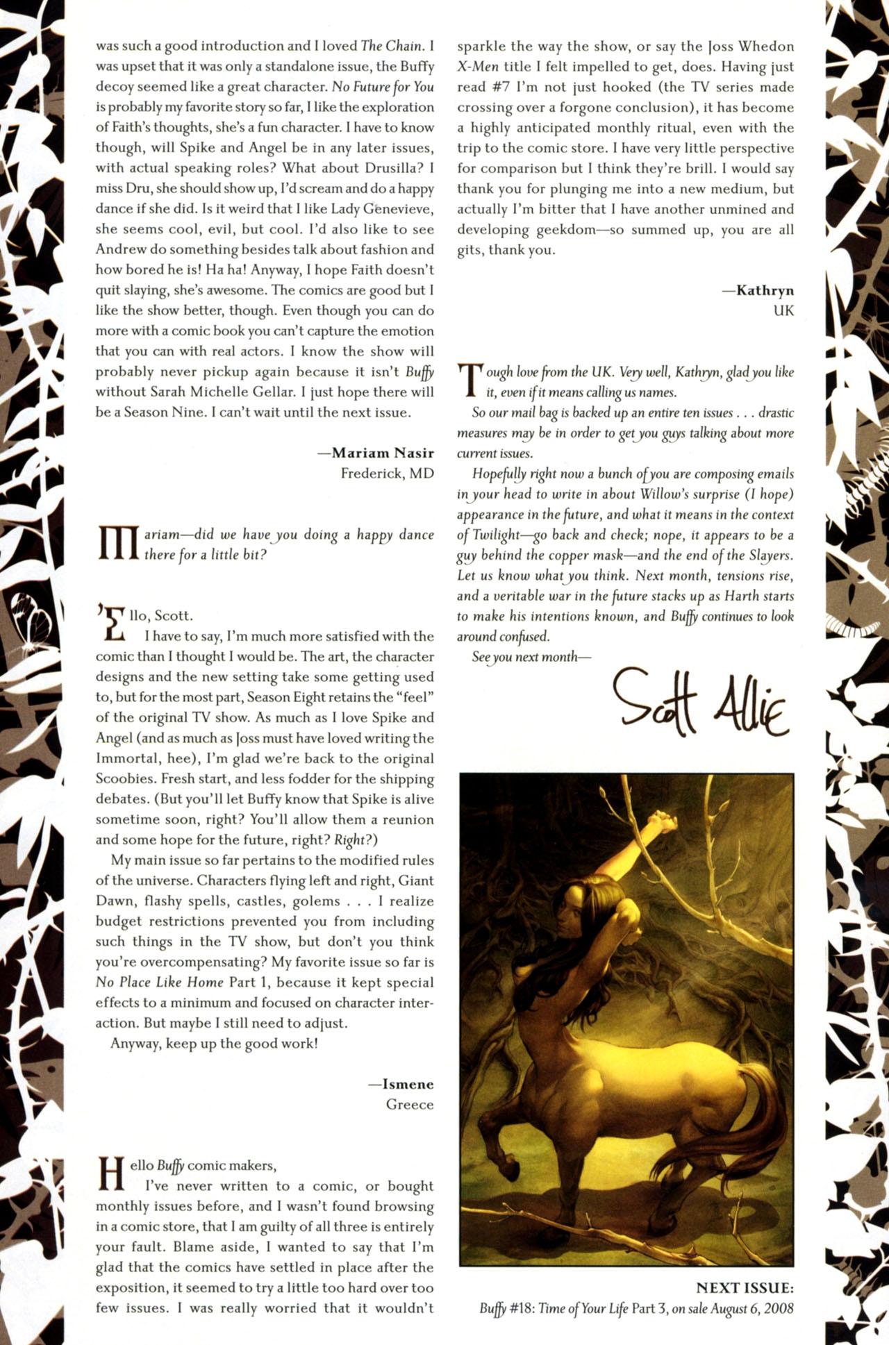 Buffy the Vampire Slayer Season Eight 17 Page 27