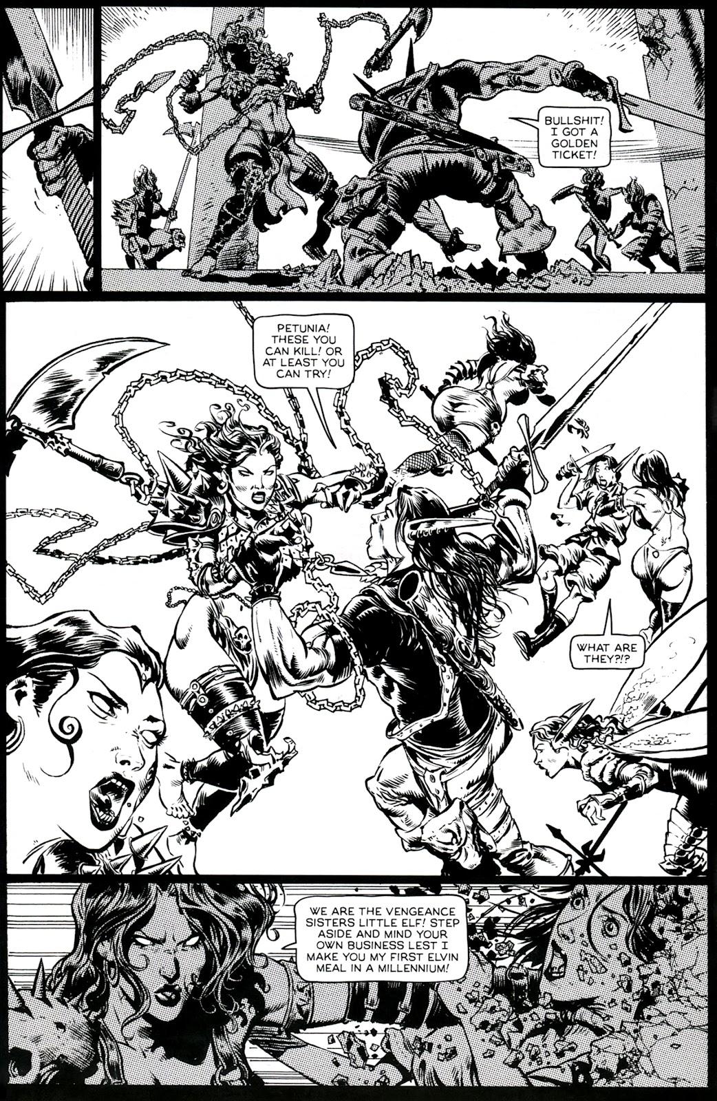 Read online Poison Elves (2013) comic -  Issue #3 - 12