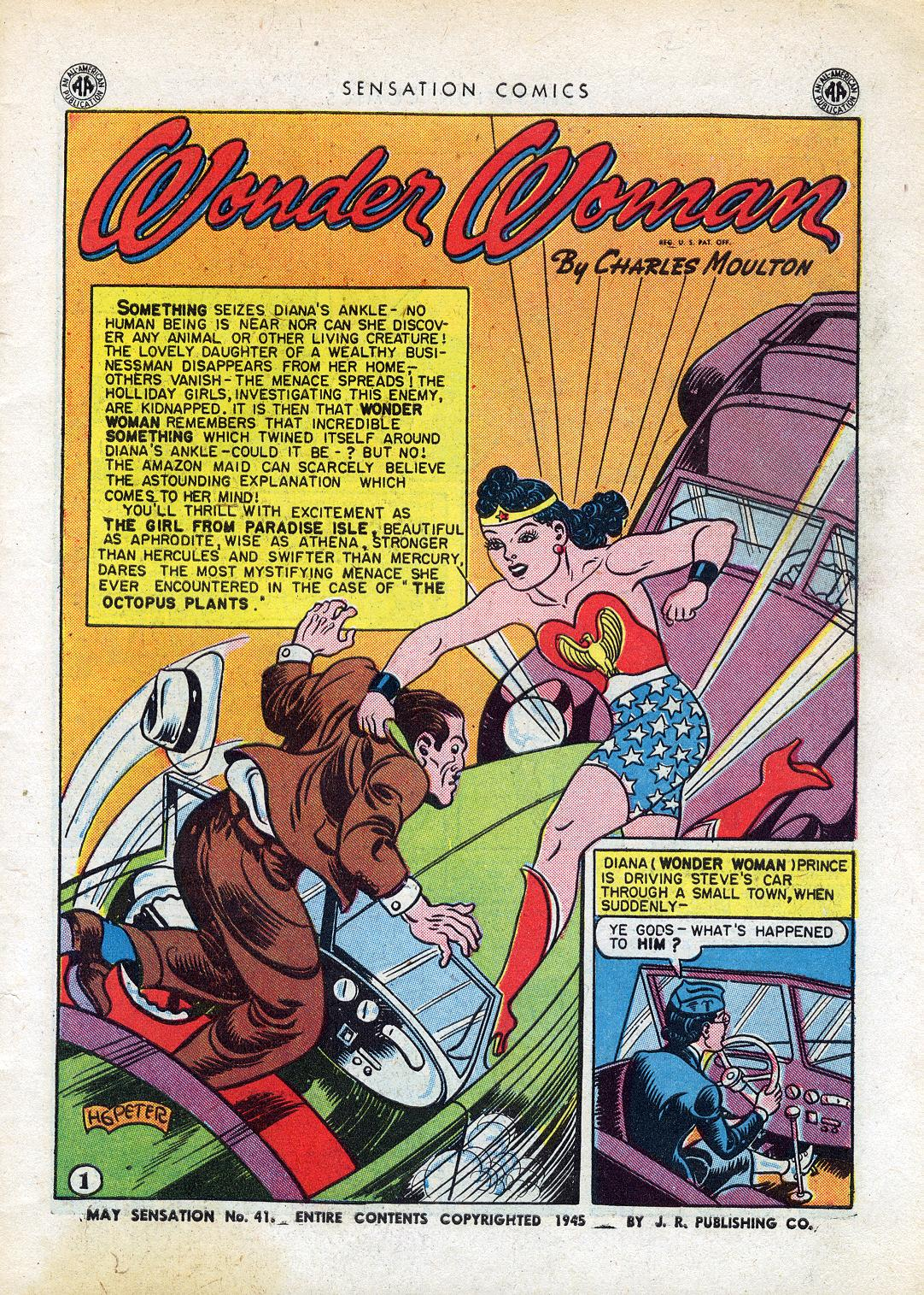 Read online Sensation (Mystery) Comics comic -  Issue #41 - 3