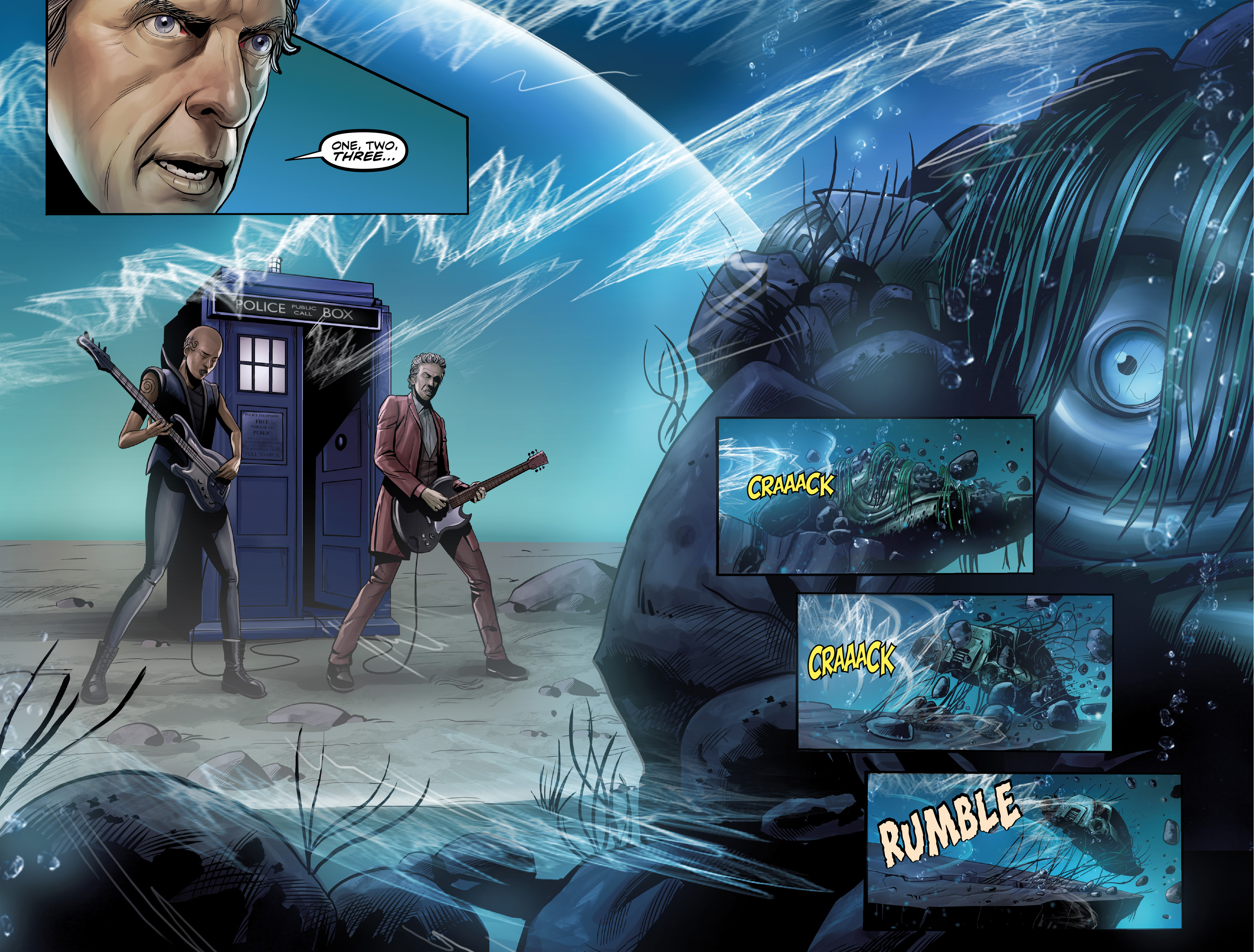 Read online Doctor Who: The Twelfth Doctor Year Three comic -  Issue #4 - 17