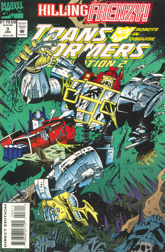 Read online Transformers: Generation 2 comic -  Issue #3 - 1