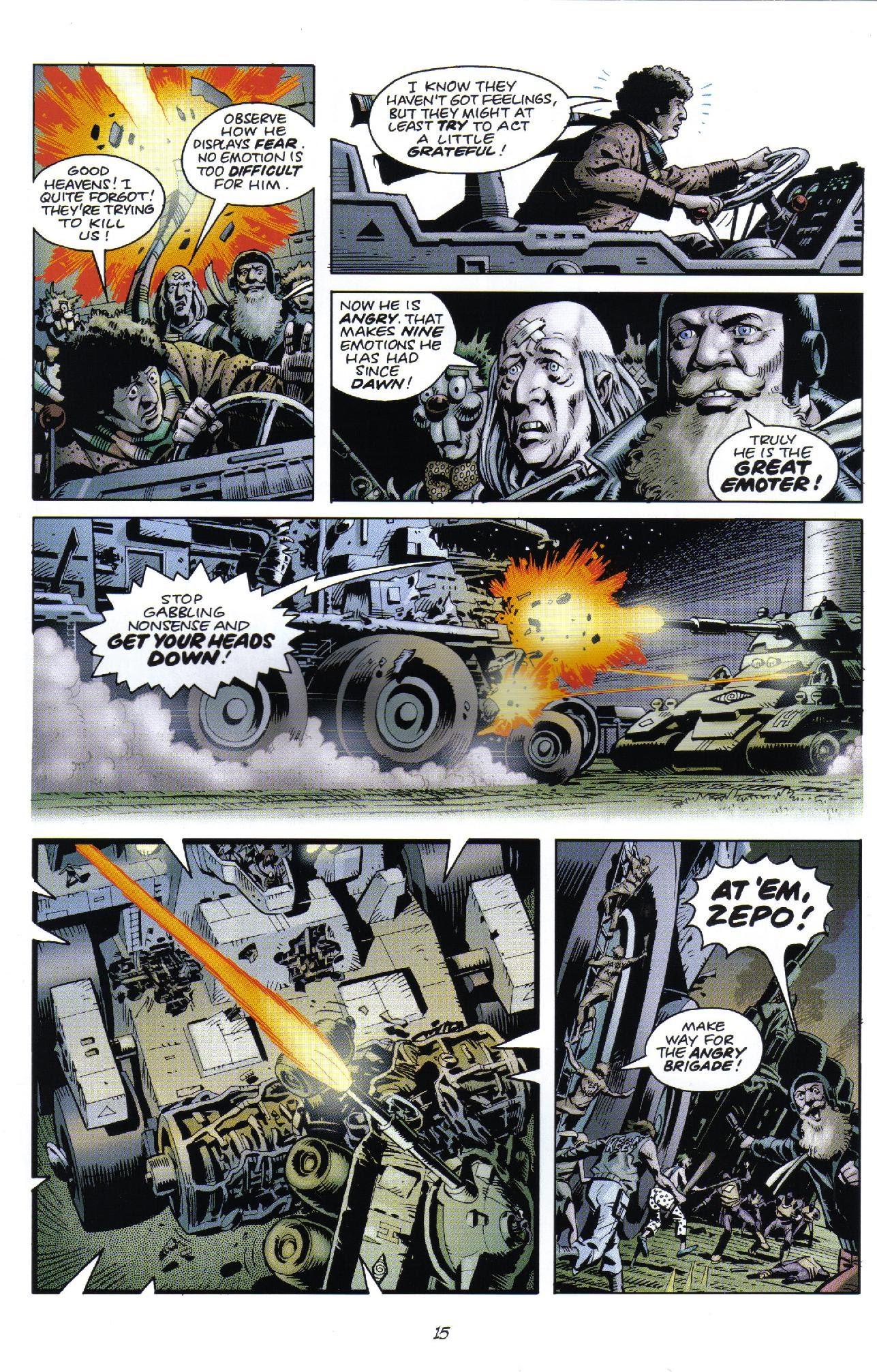 Doctor Who Classics Issue 3   Viewcomic reading comics