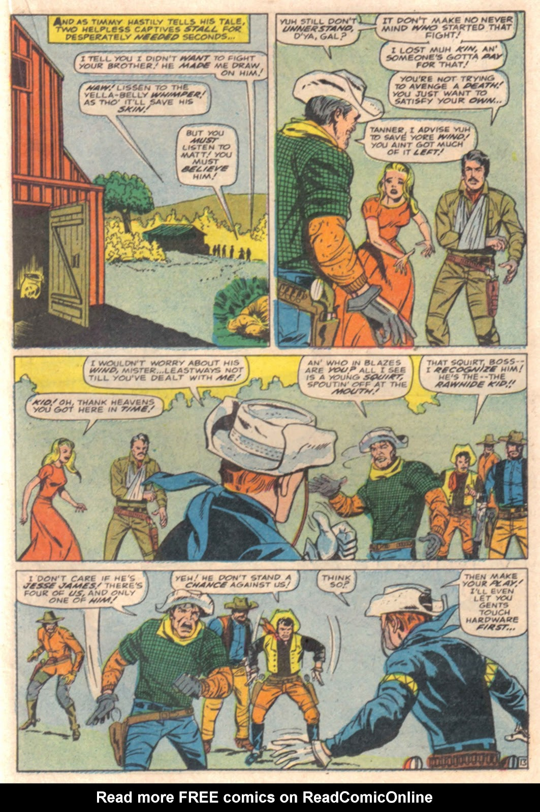 The Rawhide Kid (1955) issue 65 - Page 19