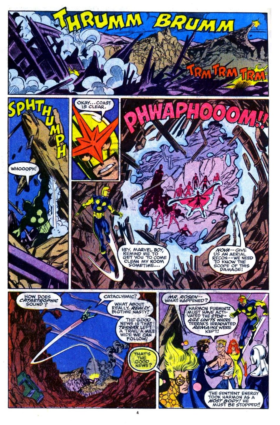 The New Warriors Issue #16 #20 - English 5