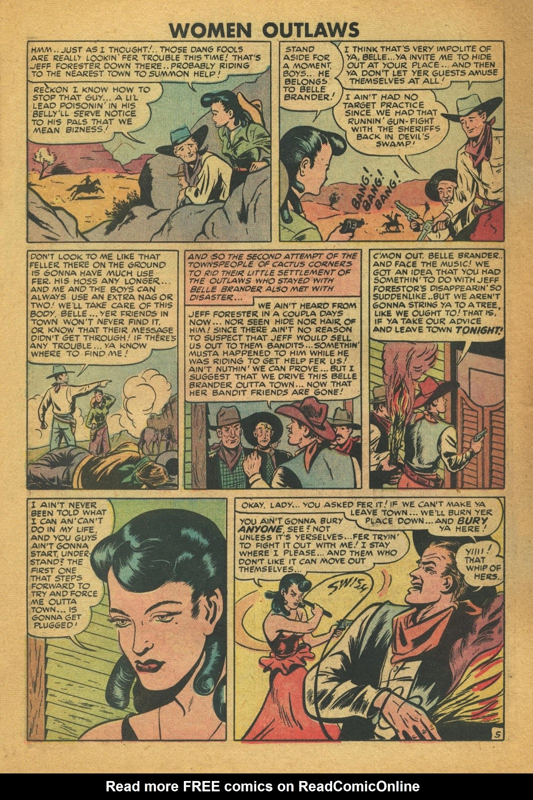Read online Women Outlaws comic -  Issue #6 - 26