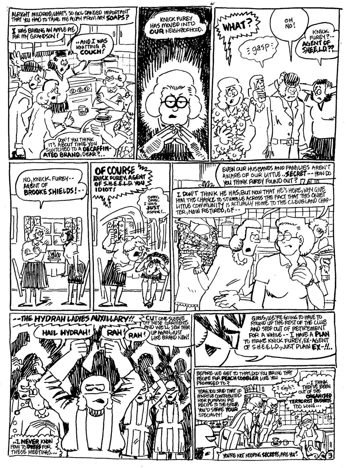Read online The Nearly Complete Essential Hembeck Archives Omnibus comic -  Issue # TPB (Part 6) - 47