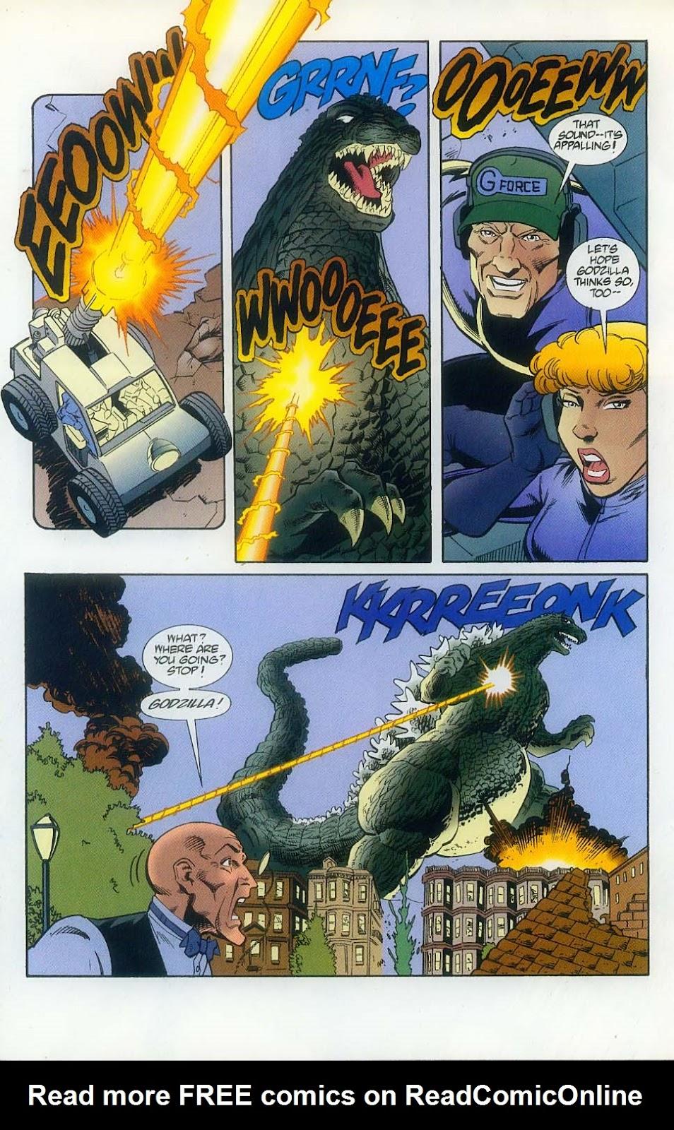 Godzilla (1995) Issue #11 #12 - English 24