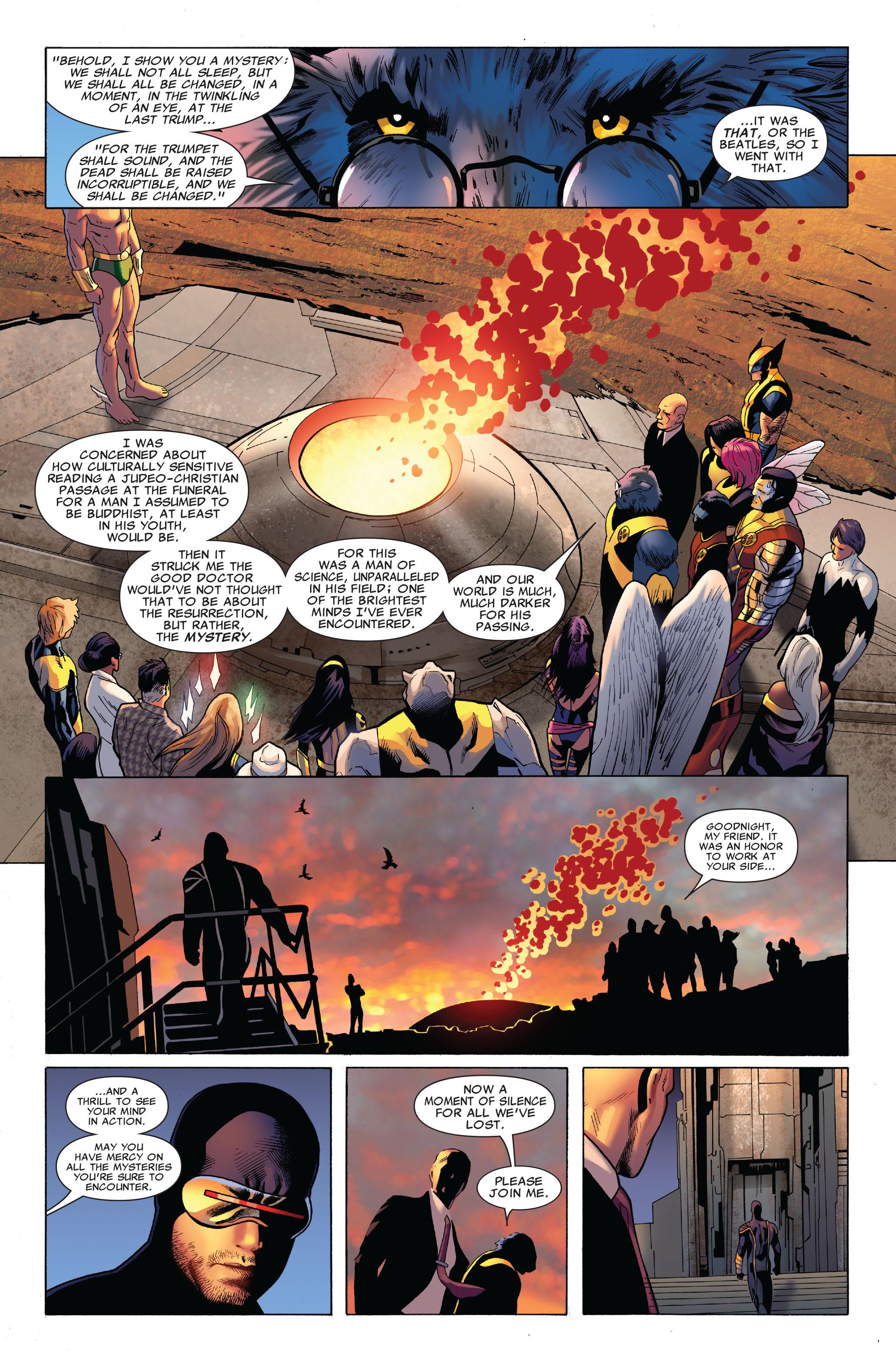 Read online Uncanny X-Men (1963) comic -  Issue #515 - 21