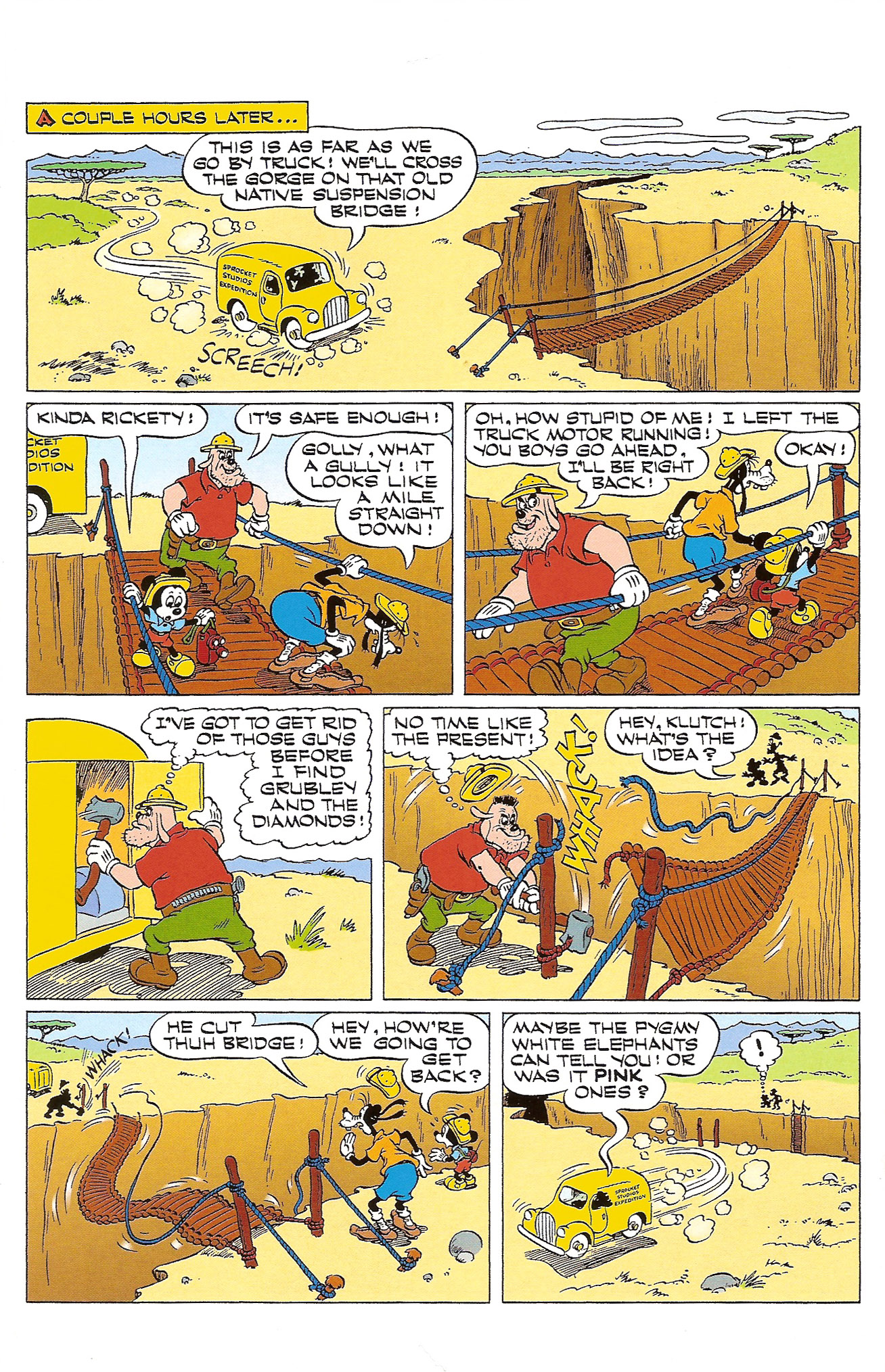 Read online Mickey Mouse (2011) comic -  Issue #305 - 16