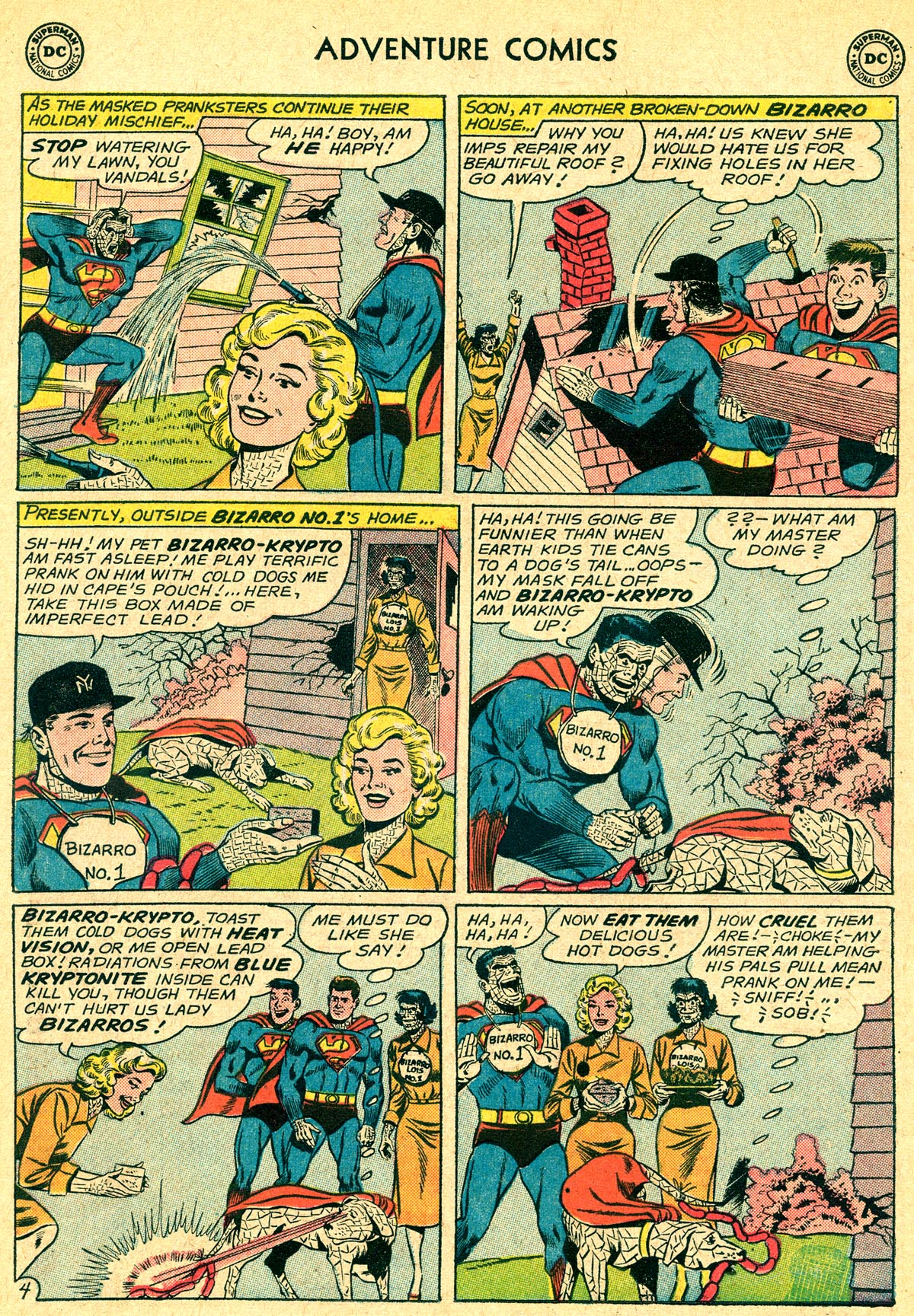 Read online Adventure Comics (1938) comic -  Issue #294 - 22