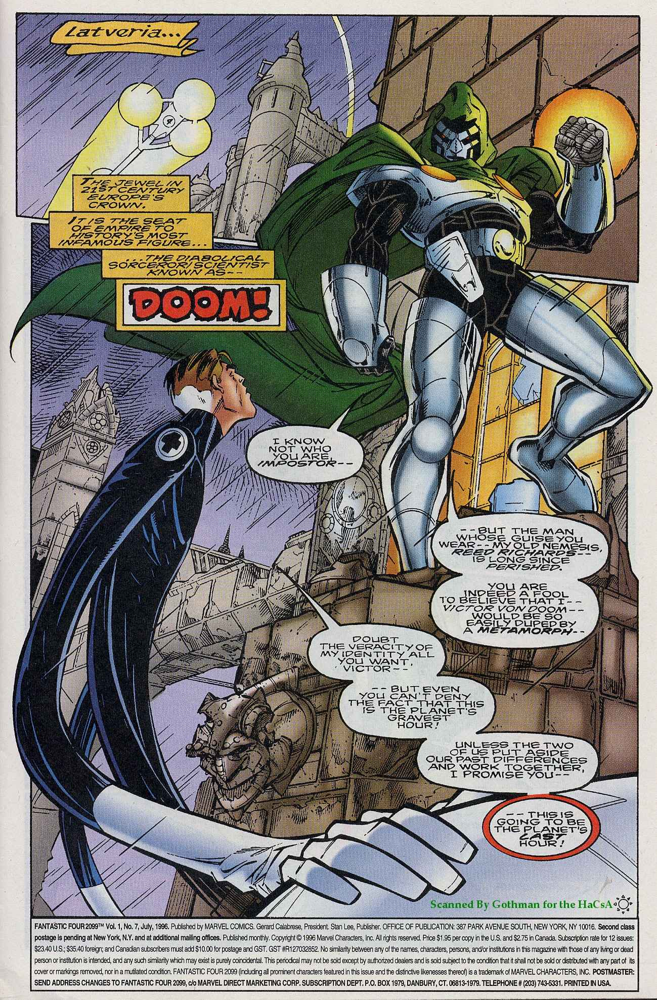 Fantastic Four 2099 7 Page 2