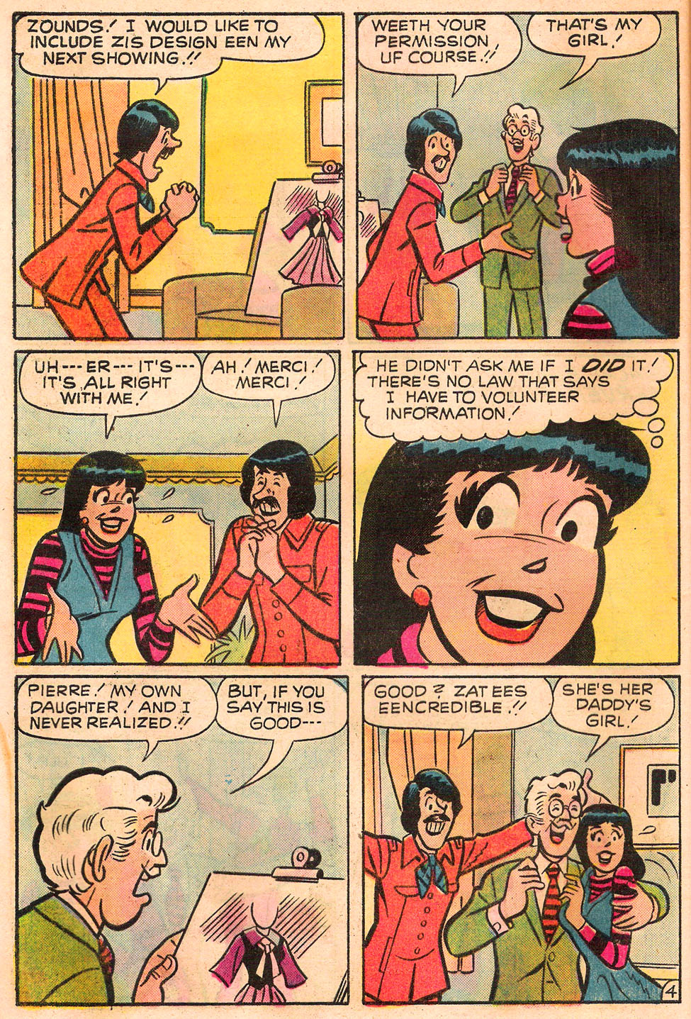 Read online Archie's Girls Betty and Veronica comic -  Issue #245 - 32