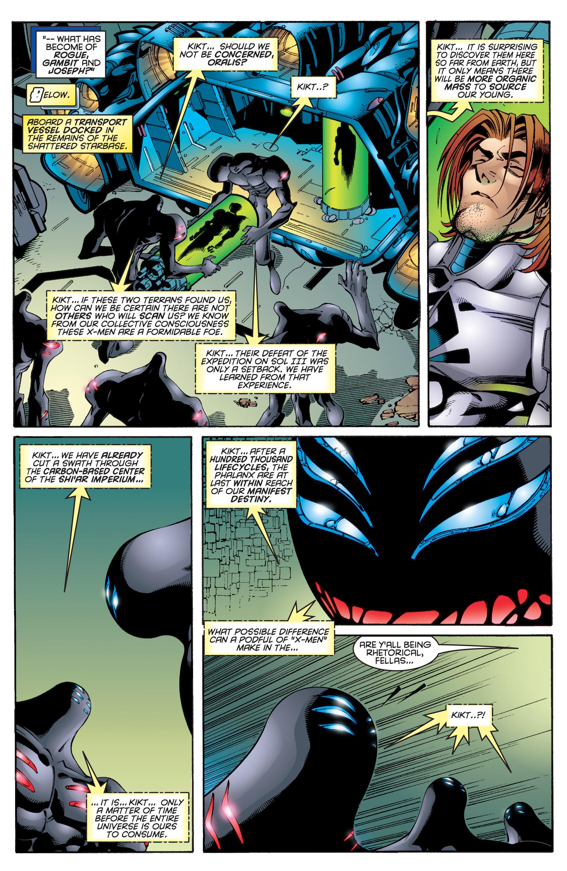 Read online Uncanny X-Men (1963) comic -  Issue #343 - 8