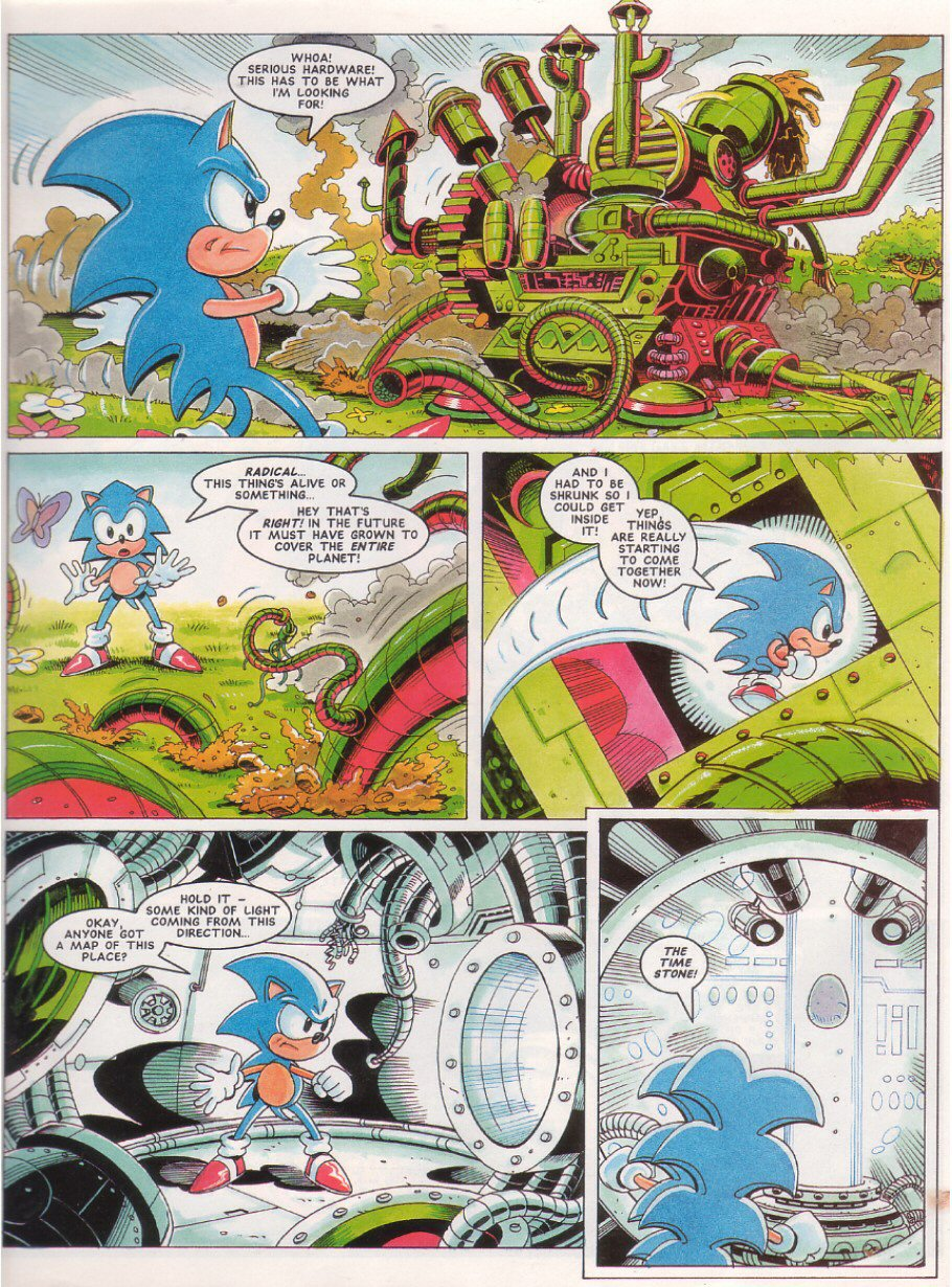Read online Sonic the Comic comic -  Issue #28 - 5