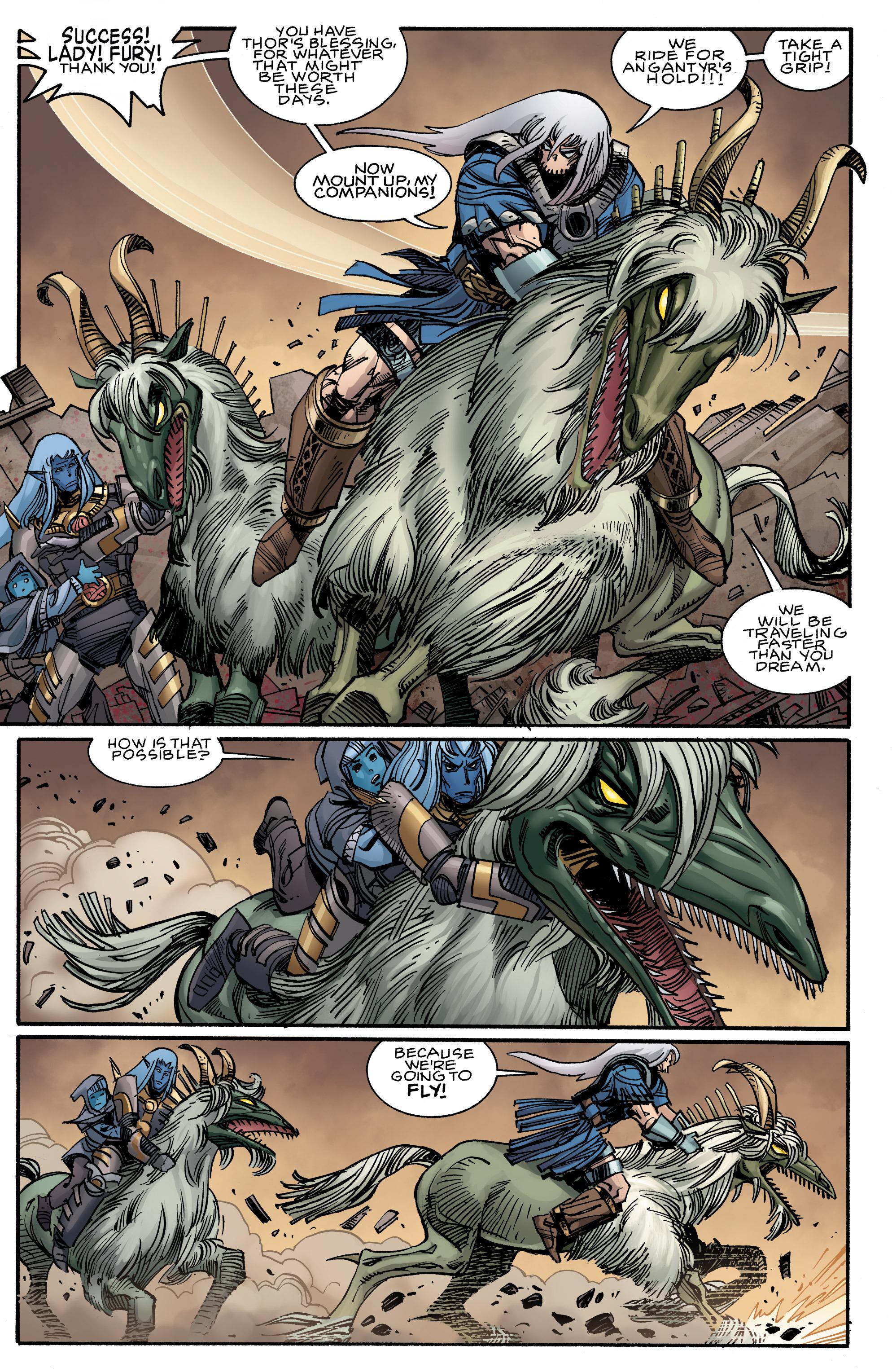 Read online Ragnarok comic -  Issue #9 - 22