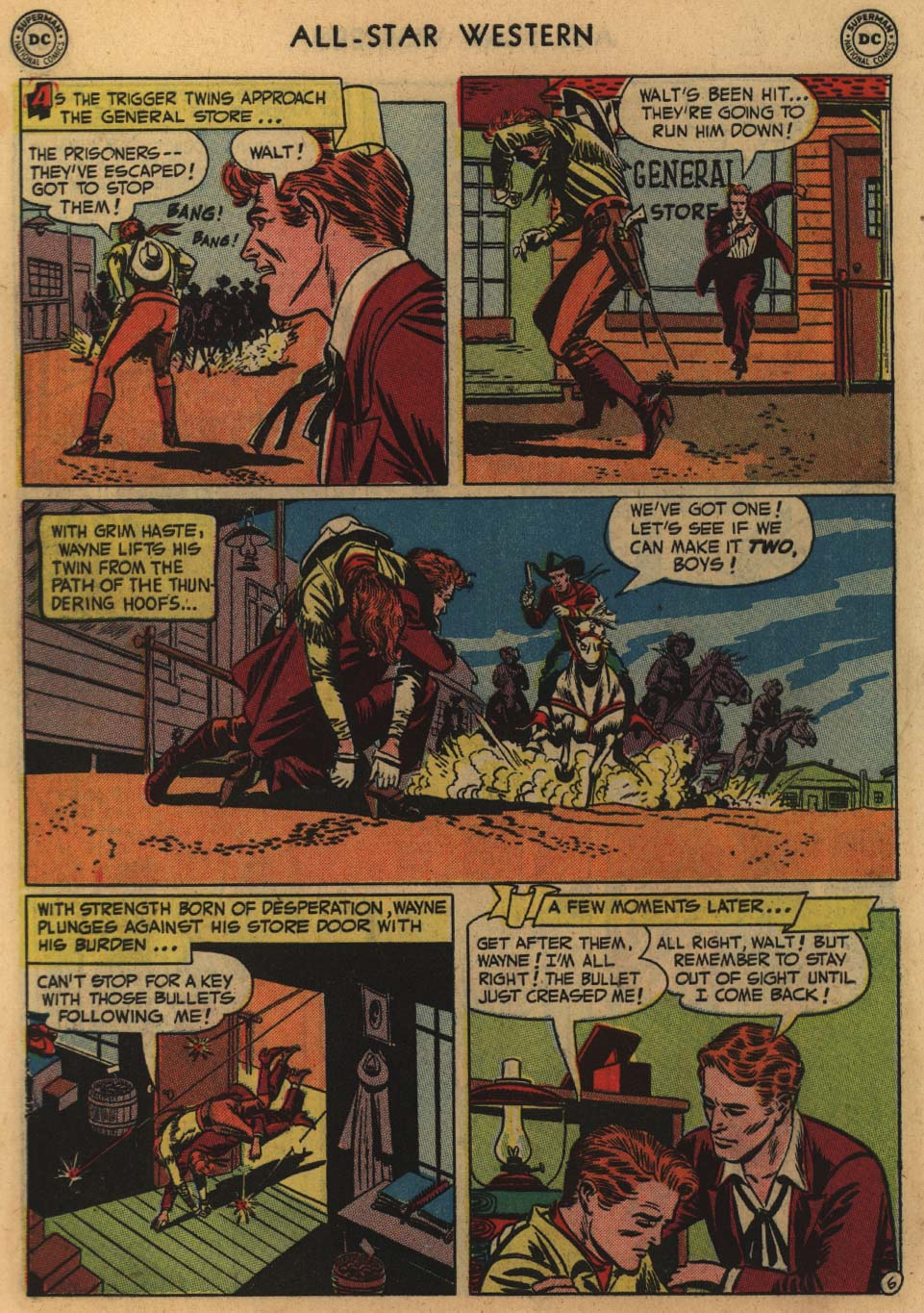 Read online All-Star Western (1951) comic -  Issue #60 - 8