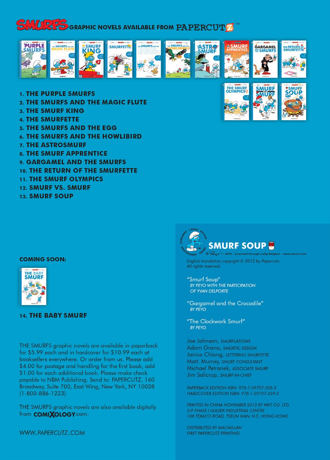 Read online The Smurfs comic -  Issue #13 - 4