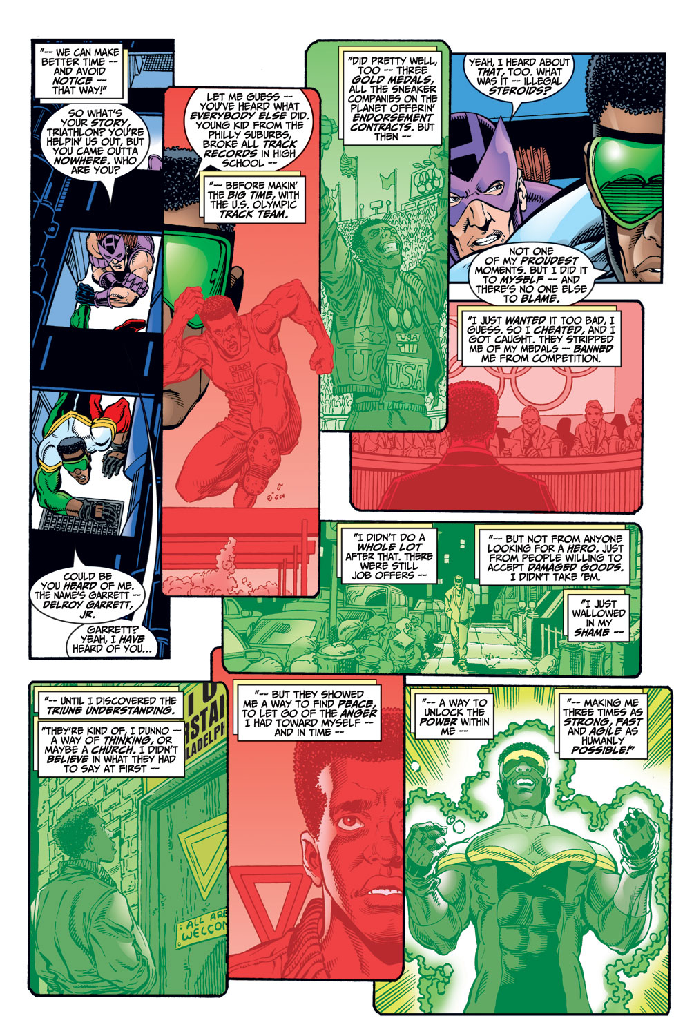 Read online Avengers (1998) comic -  Issue #9 - 10