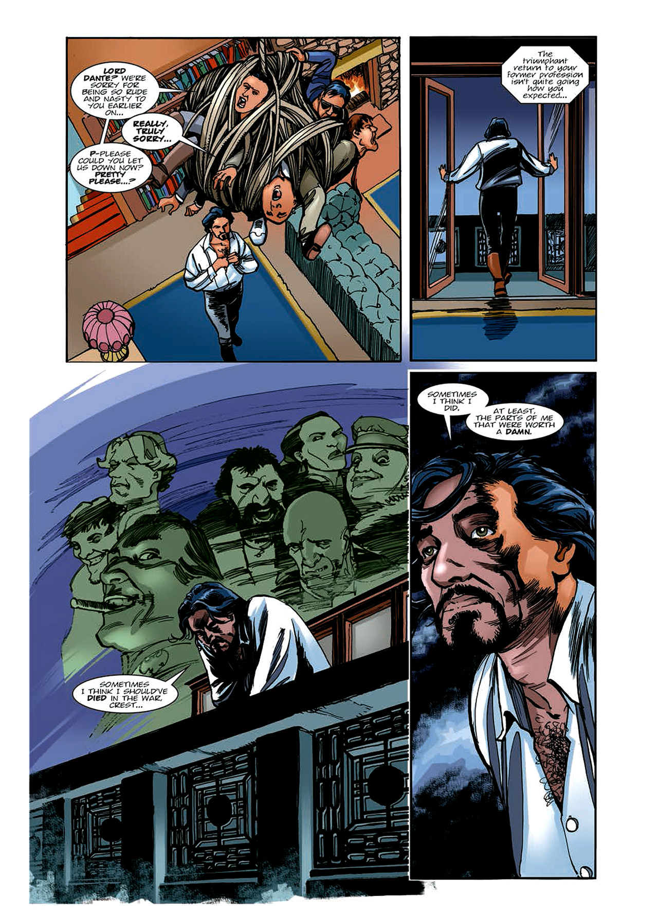 Read online Nikolai Dante comic -  Issue # TPB 6 - 59