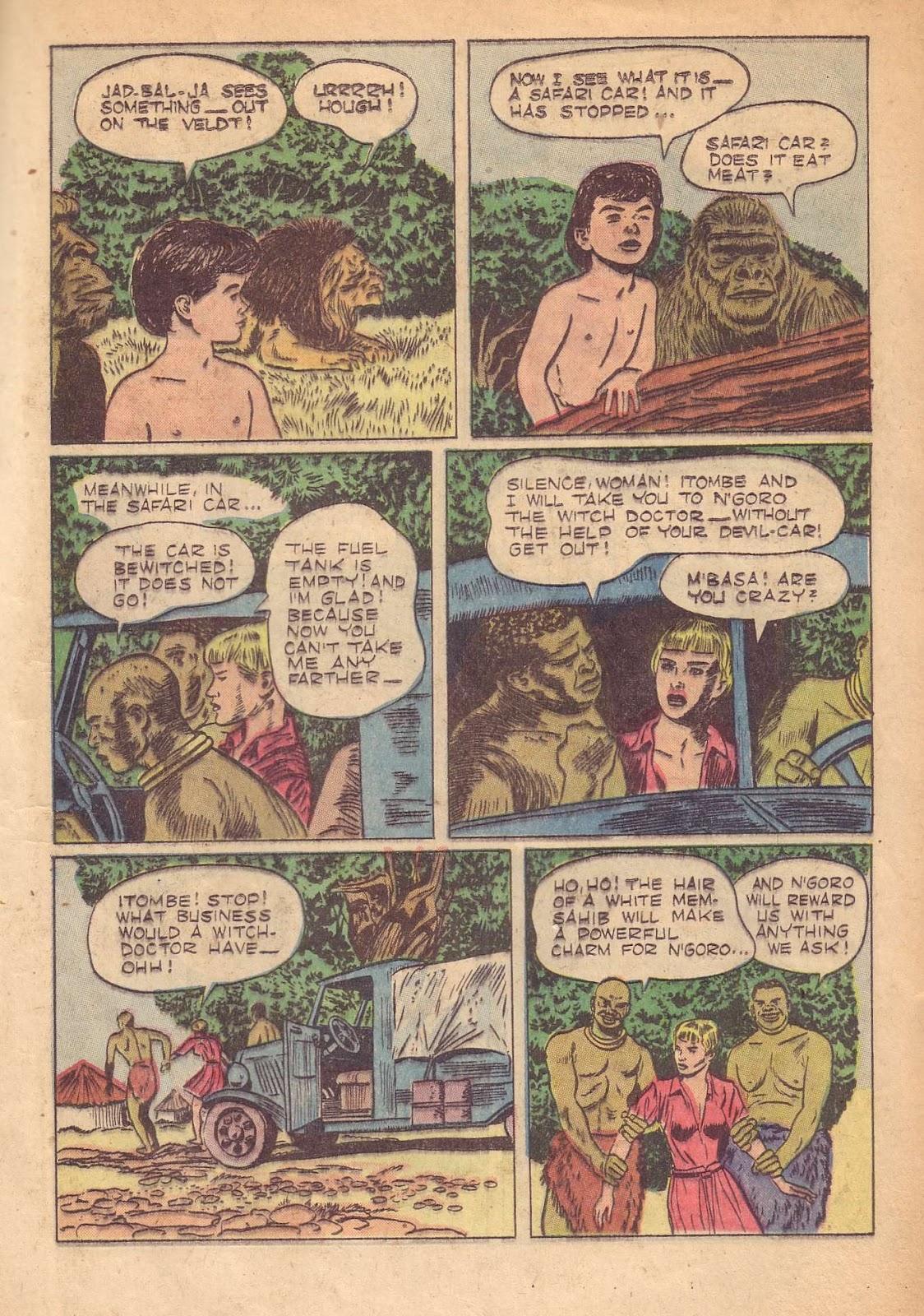 Tarzan (1948) issue 50 - Page 21