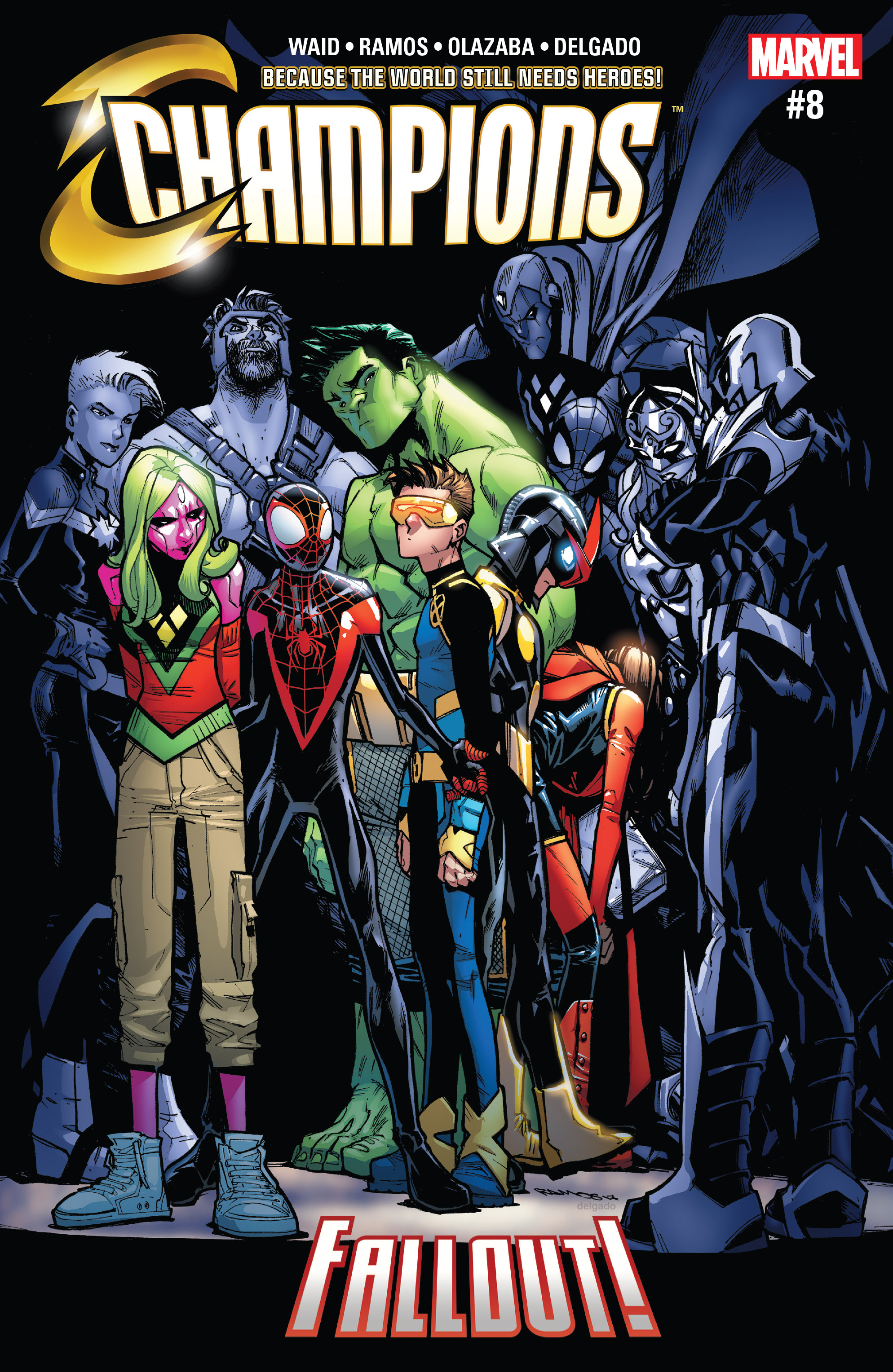 Read online Champions (2016) comic -  Issue #8 - 1