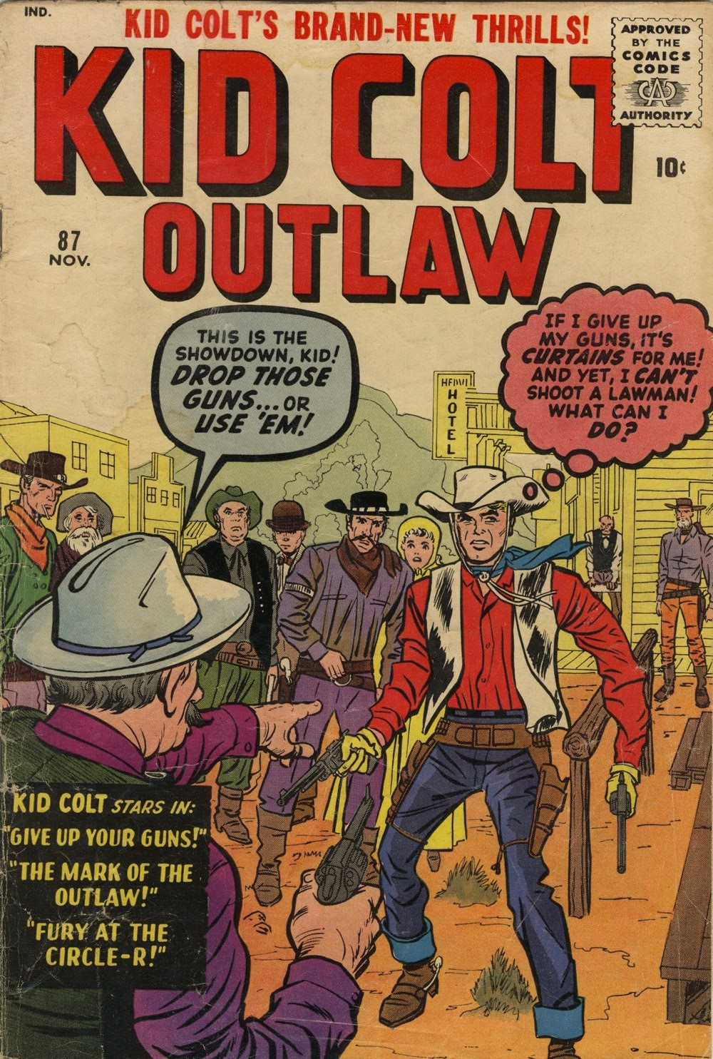 Kid Colt Outlaw issue 87 - Page 1
