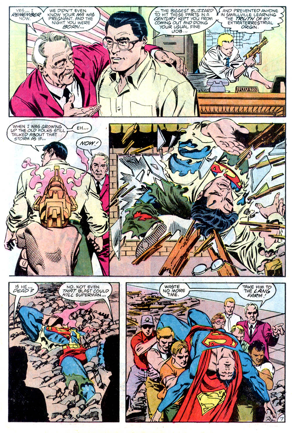 Read online Adventures of Superman (1987) comic -  Issue #436 - 8