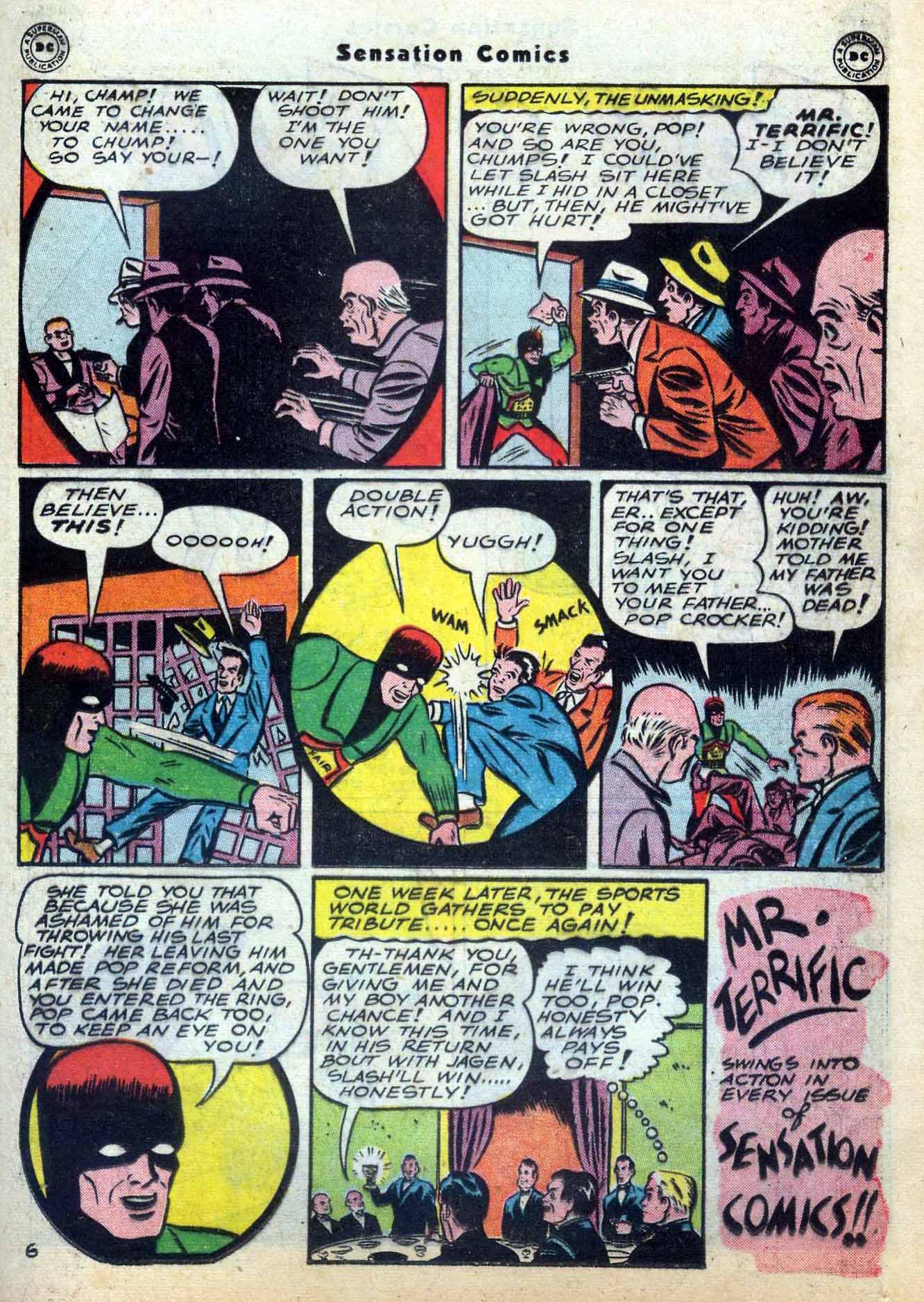 Read online Sensation (Mystery) Comics comic -  Issue #59 - 37