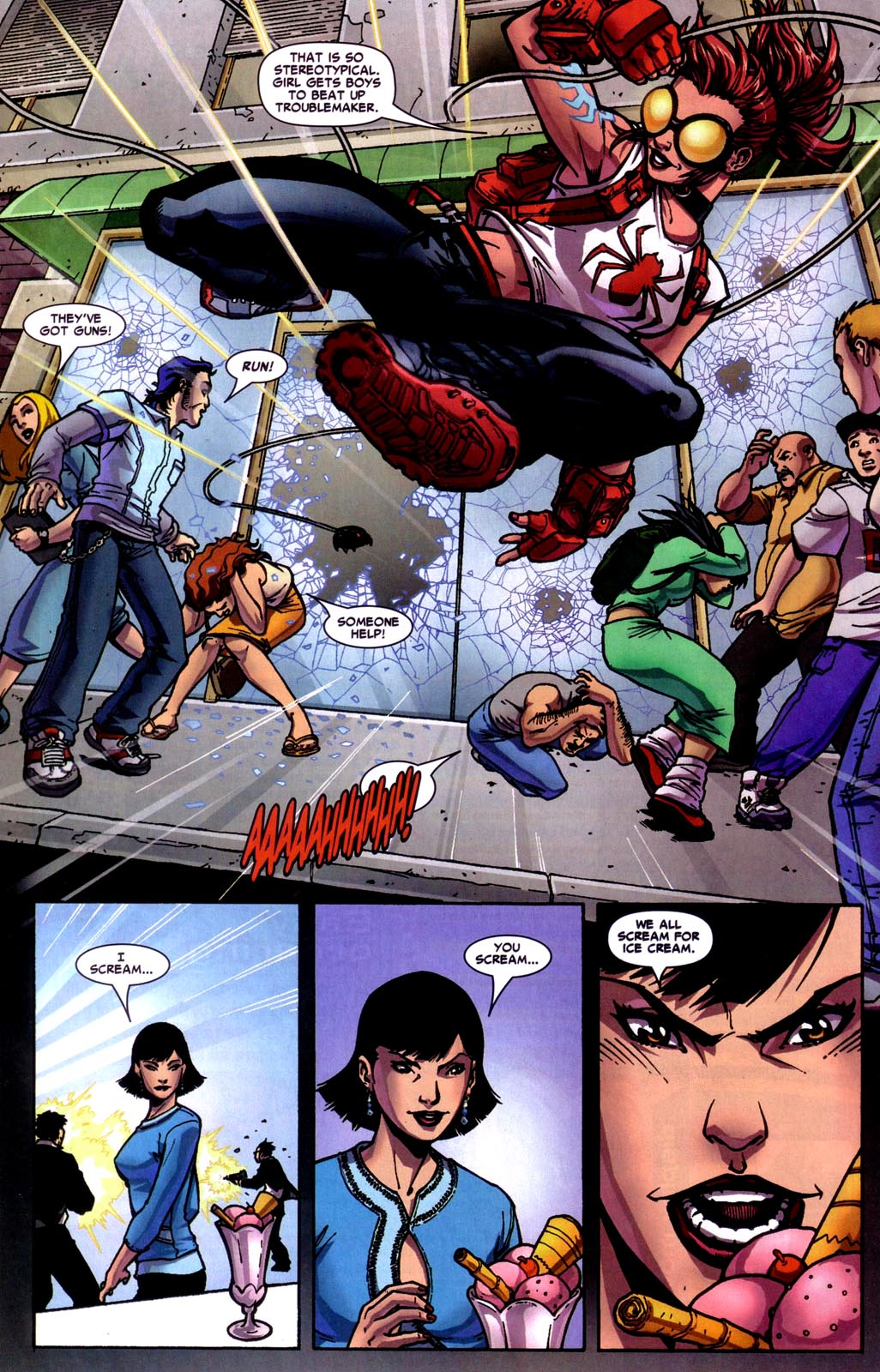 Read online Araña: Heart of the Spider comic -  Issue #7 - 15