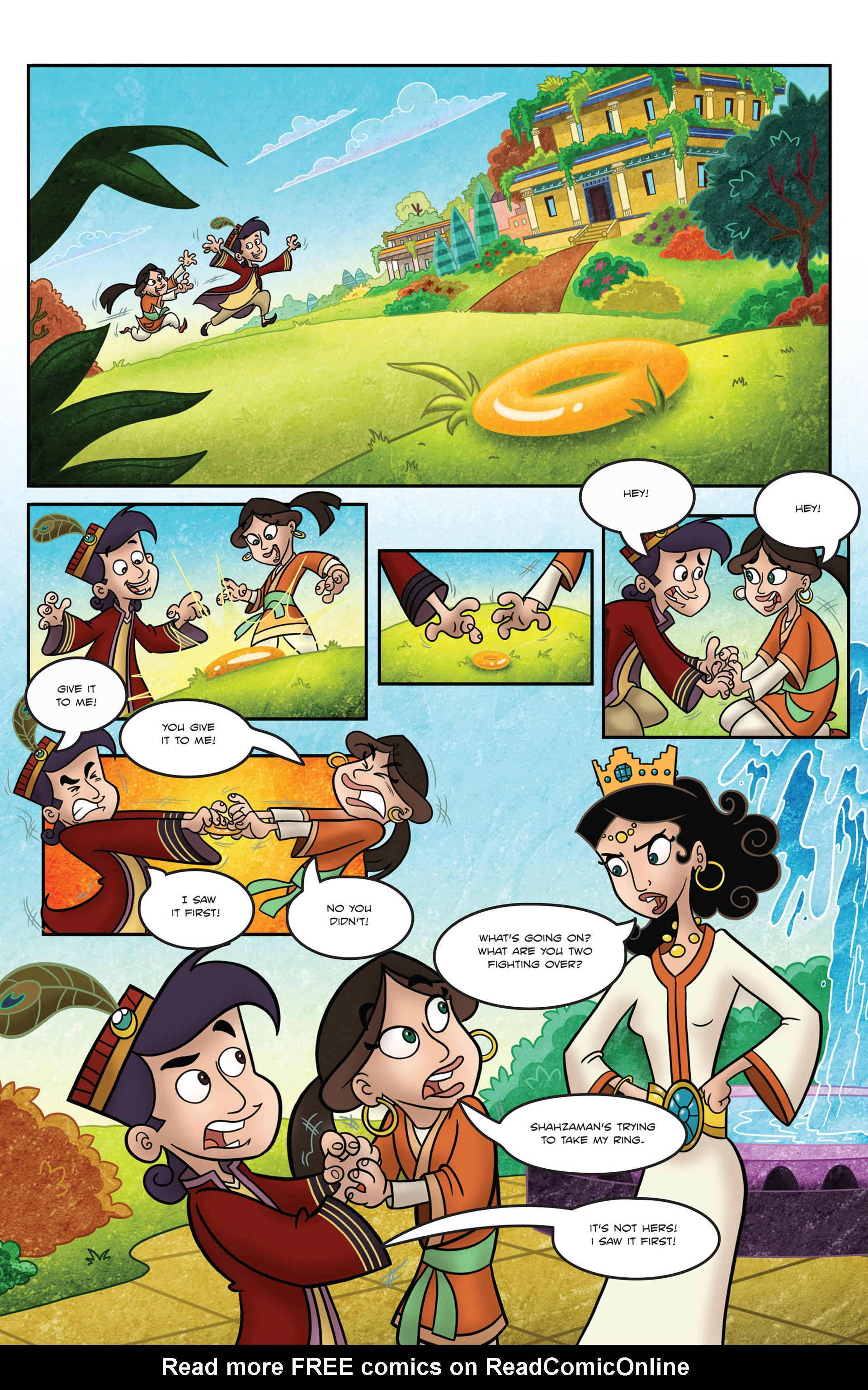 Read online 1001 Nights comic -  Issue #1 - 3
