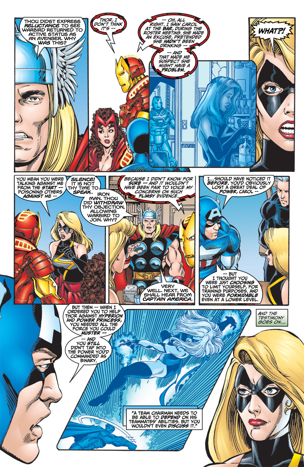 Read online Avengers (1998) comic -  Issue #7 - 4