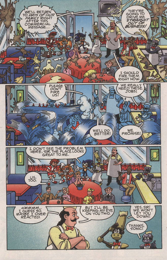 Read online Sonic X comic -  Issue #22 - 12