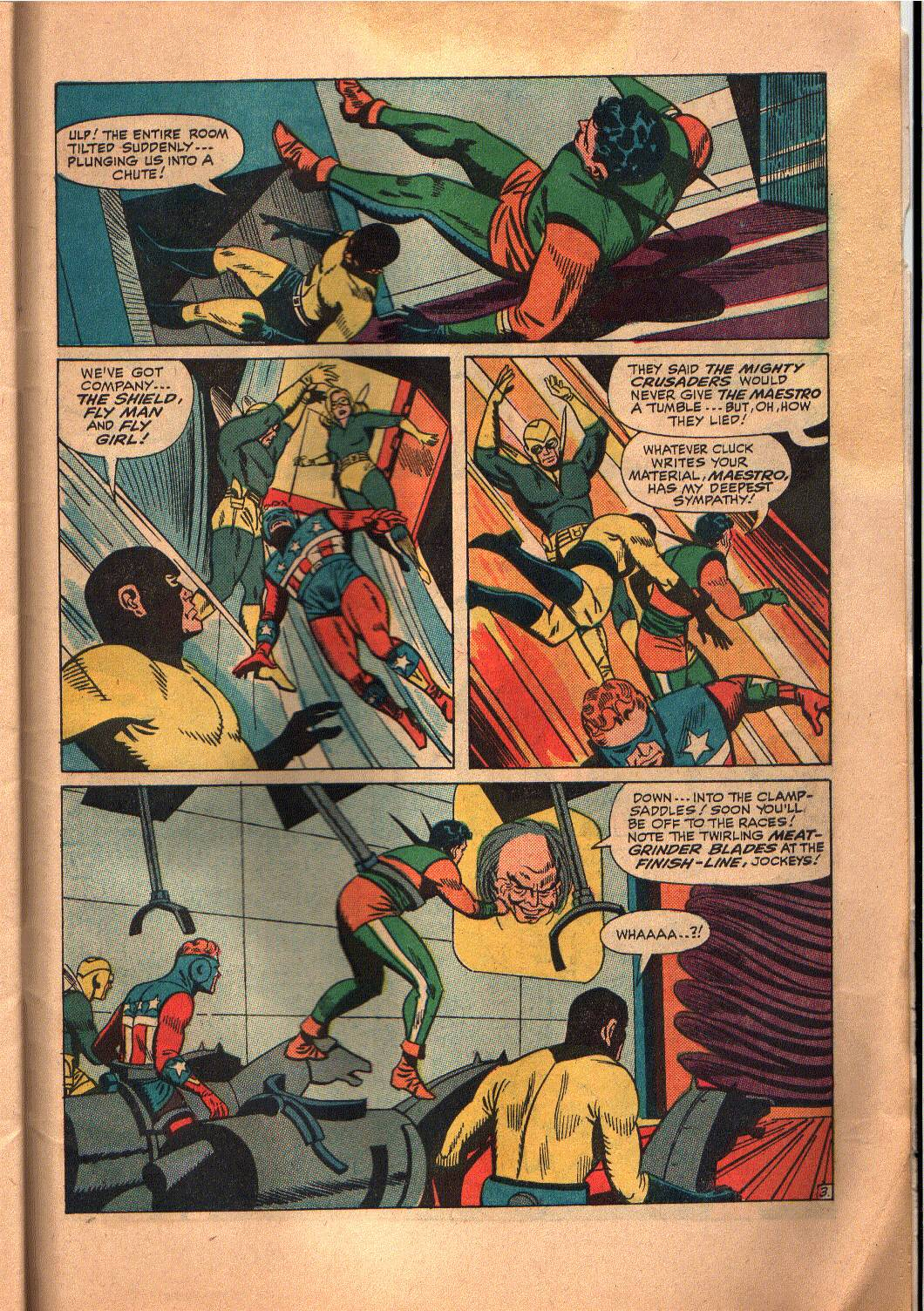 The Mighty Crusaders (1965) Issue #6 #6 - English 23