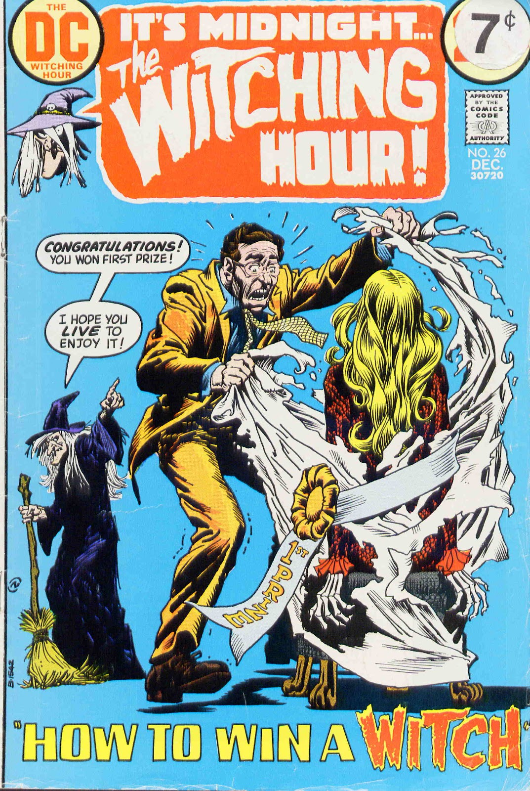 The Witching Hour (1969) issue 26 - Page 1