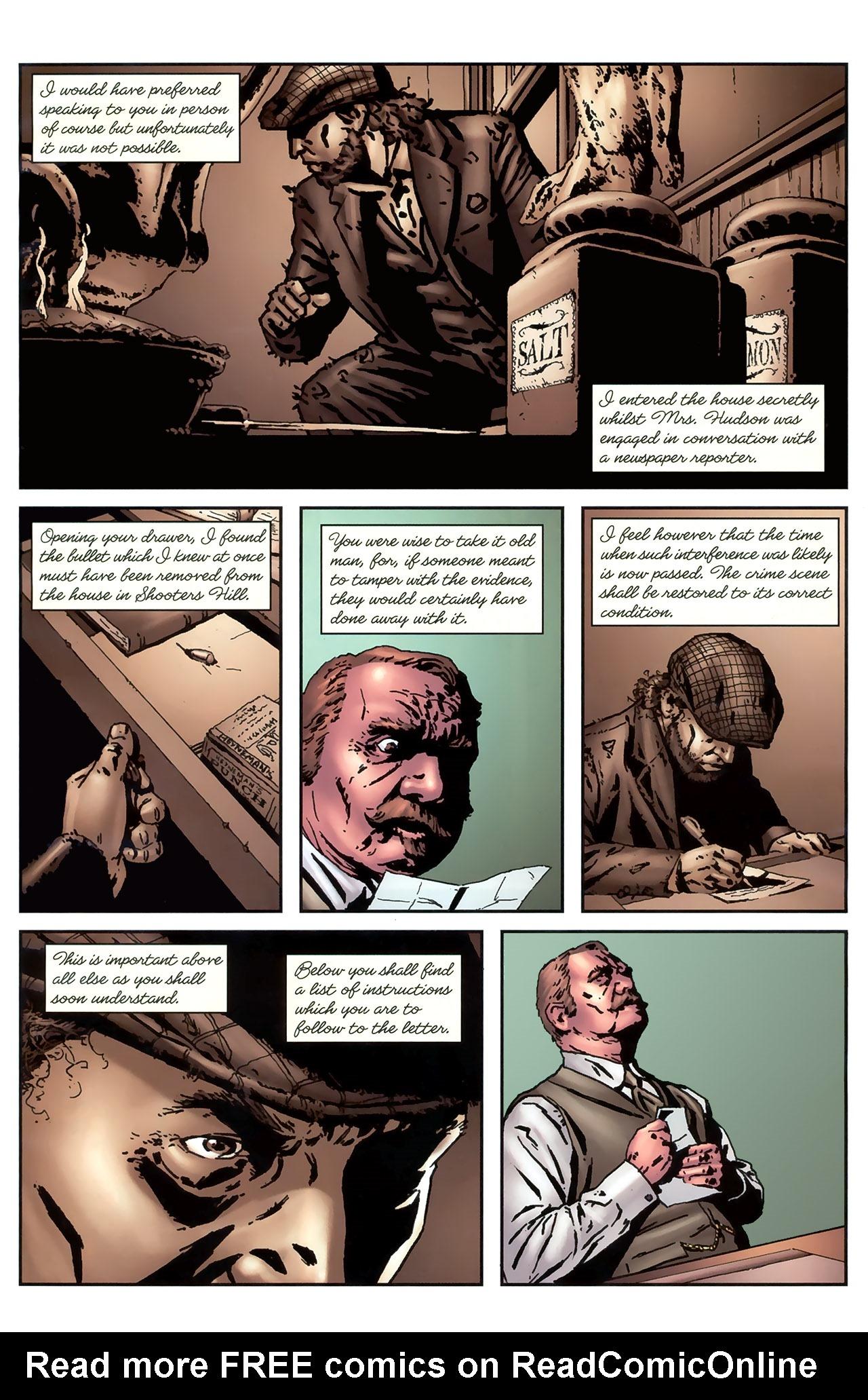 Read online Sherlock Holmes (2009) comic -  Issue #4 - 11