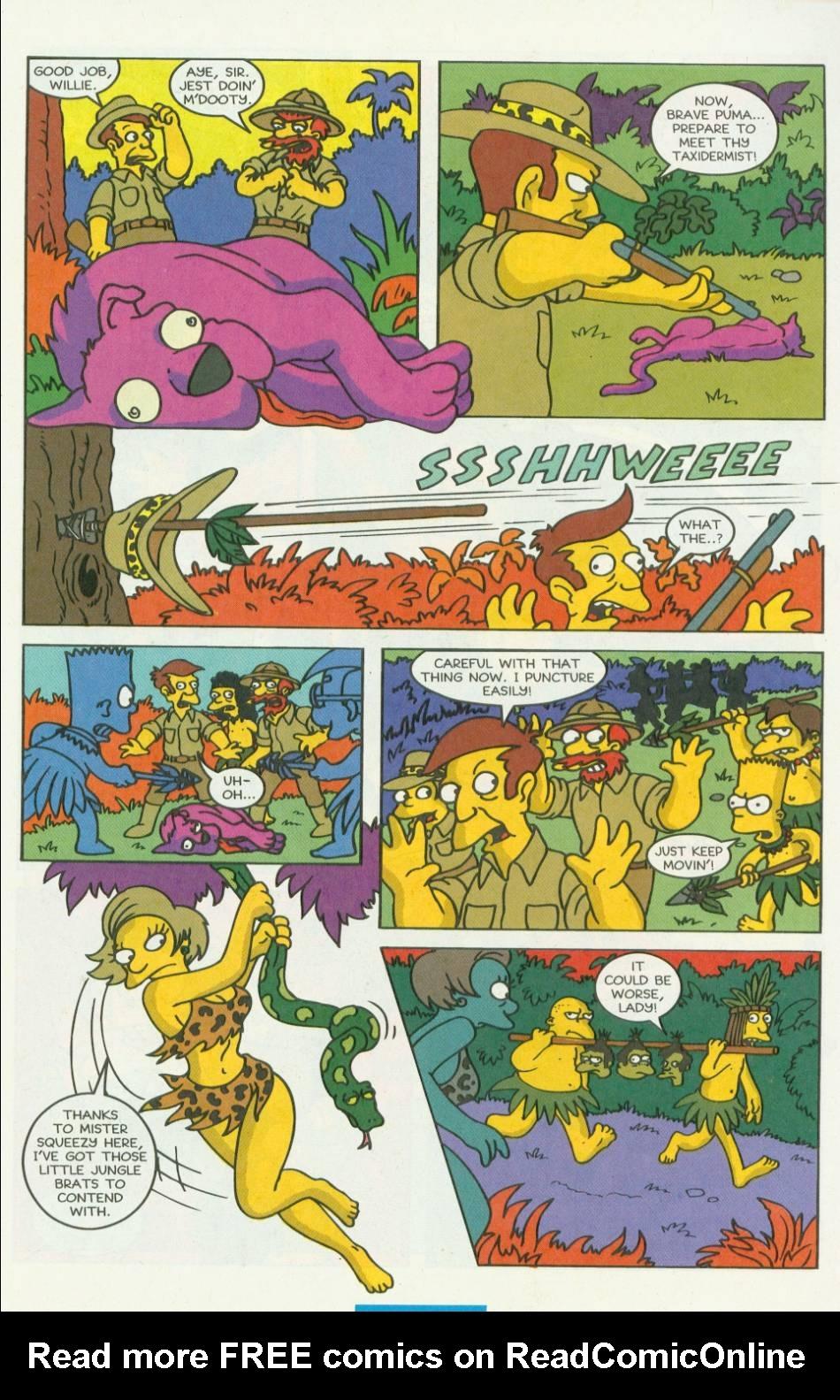 Read online Simpsons Comics comic -  Issue #8 - 28