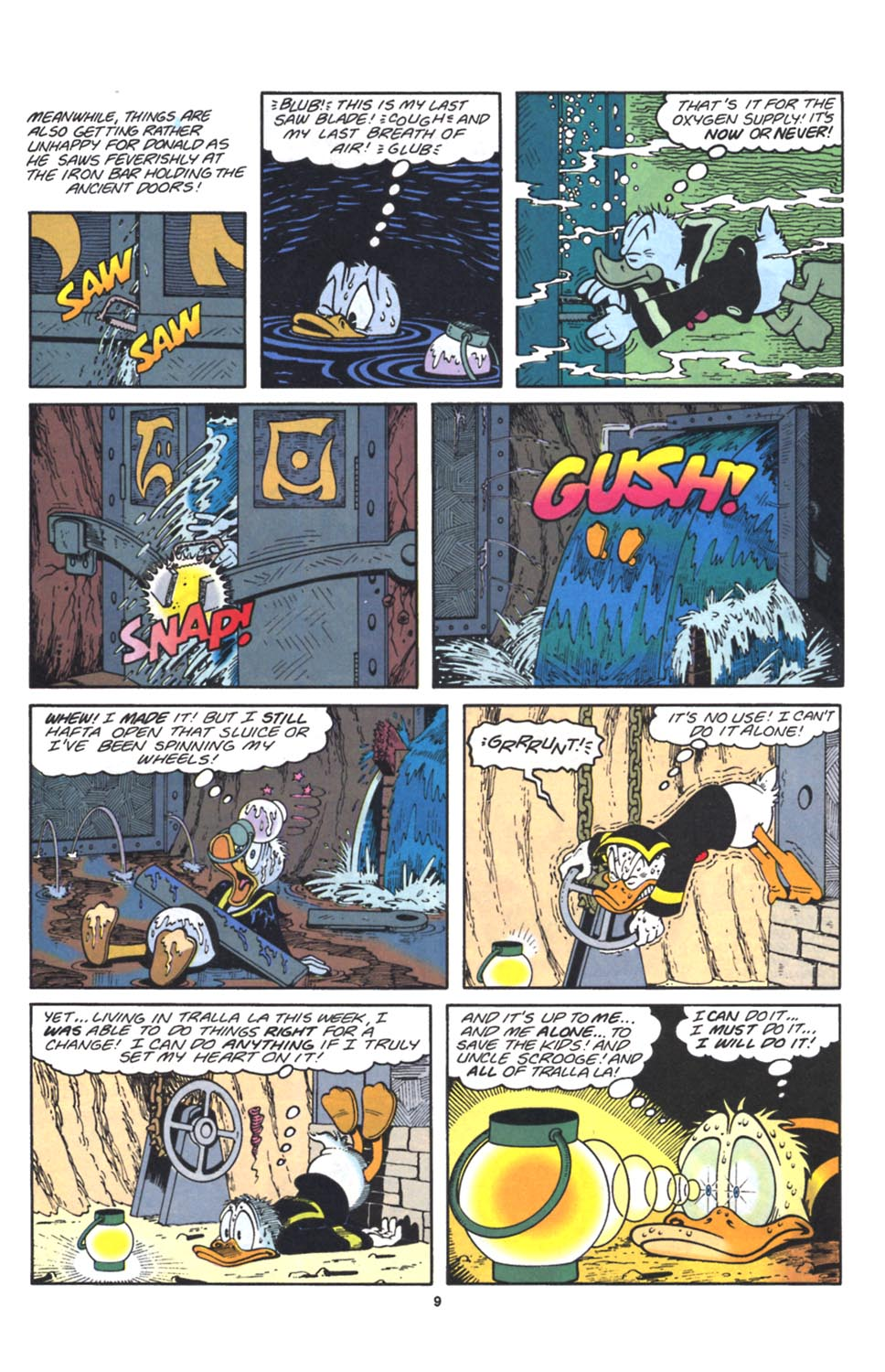 Read online Uncle Scrooge (1953) comic -  Issue #262 - 10