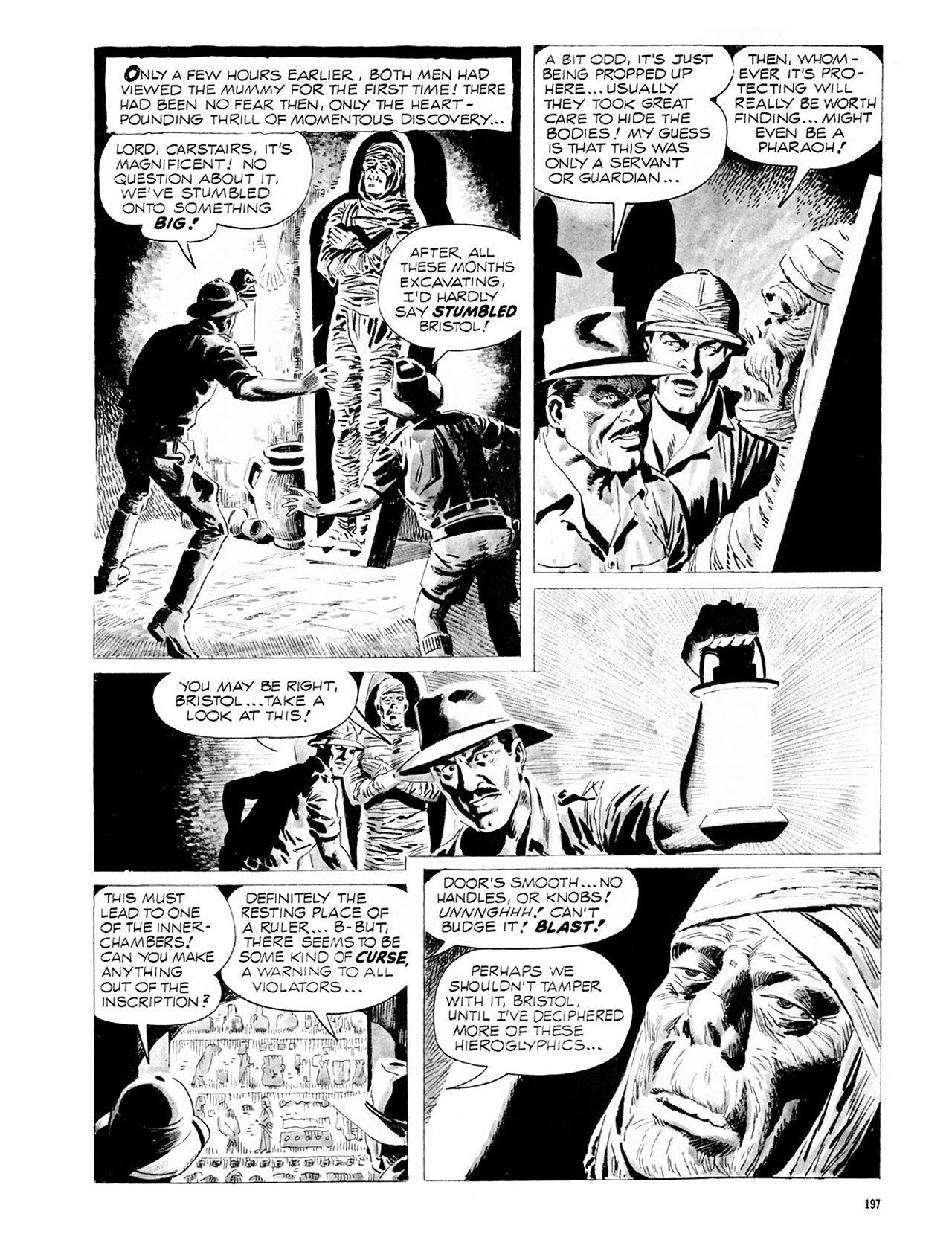 Read online Eerie Archives comic -  Issue # TPB 2 - 198
