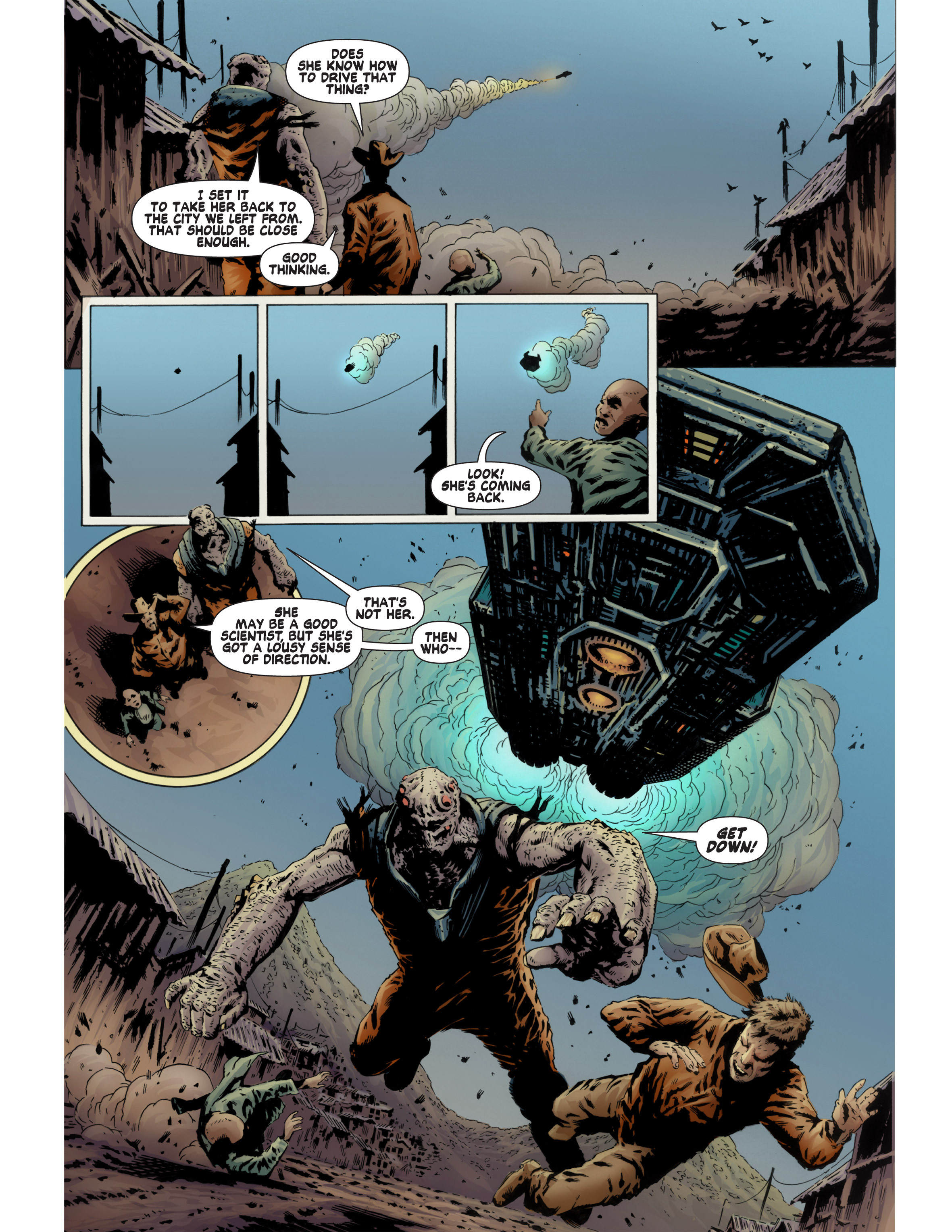 Read online Bad Planet comic -  Issue # TPB - 114