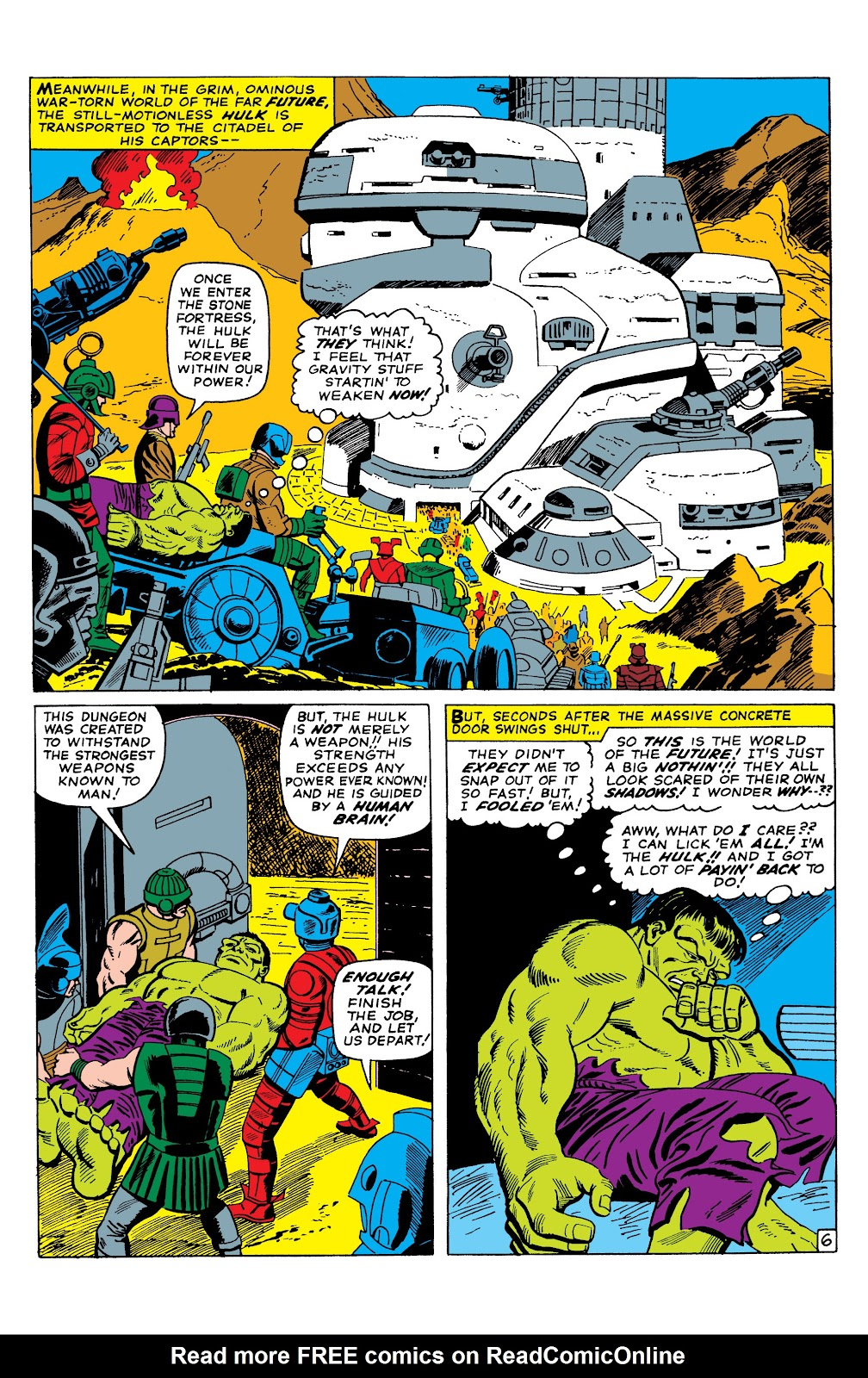 Read online Marvel Masterworks: The Incredible Hulk comic -  Issue # TPB 2 (Part 3) - 6