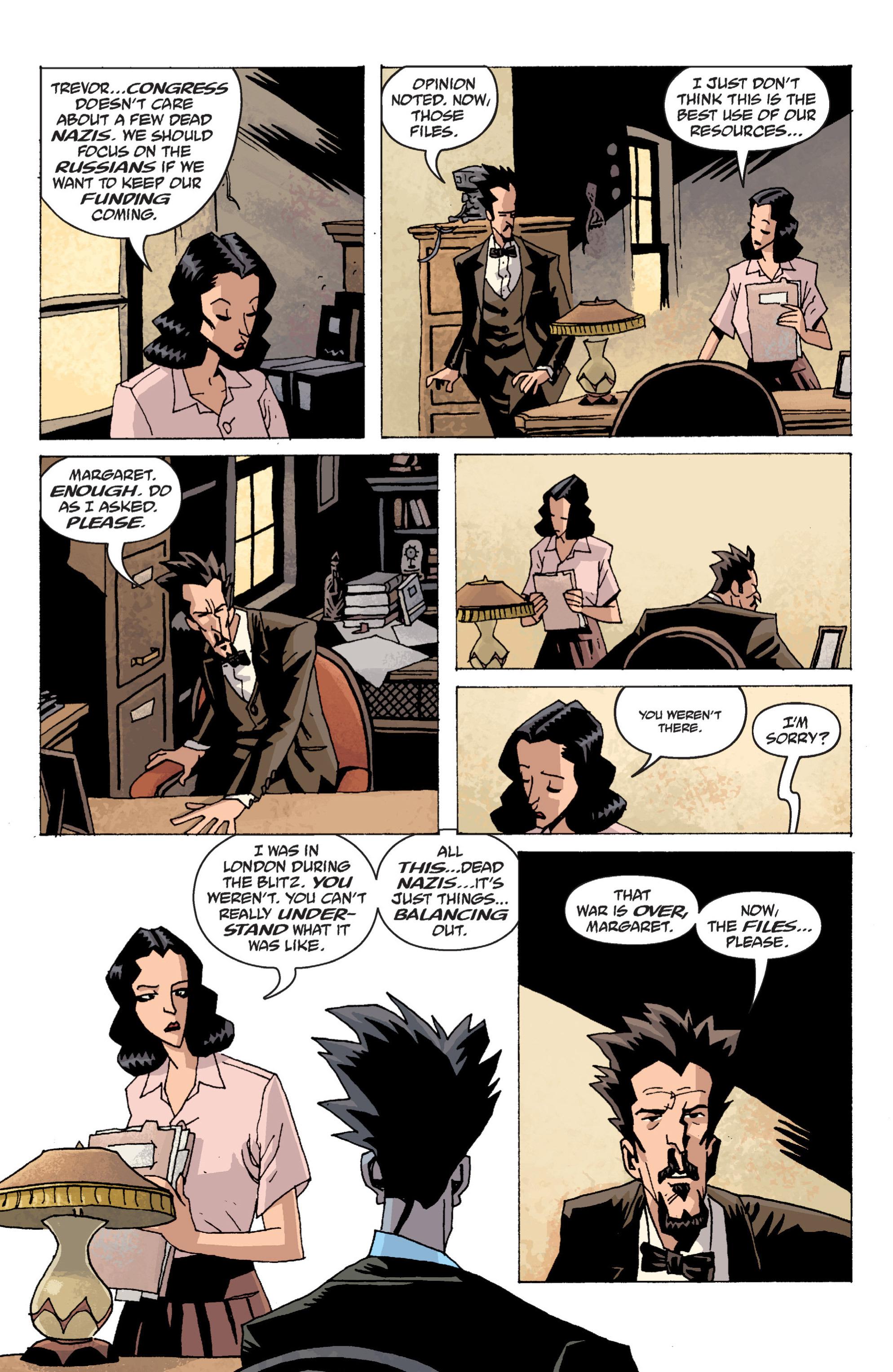 Read online B.P.R.D. (2003) comic -  Issue # TPB 13 - 16
