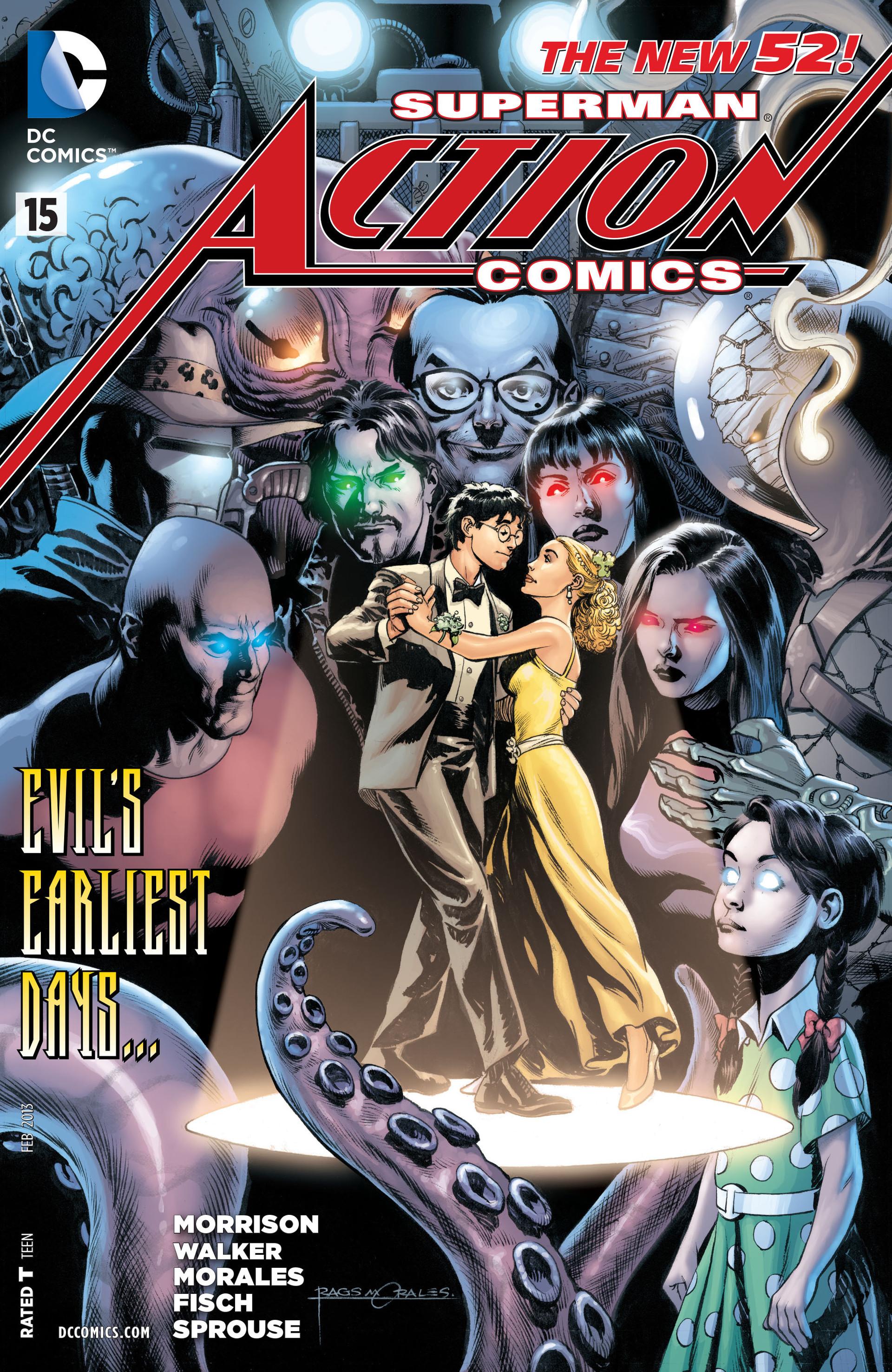 Action Comics (2011) 15 Page 1