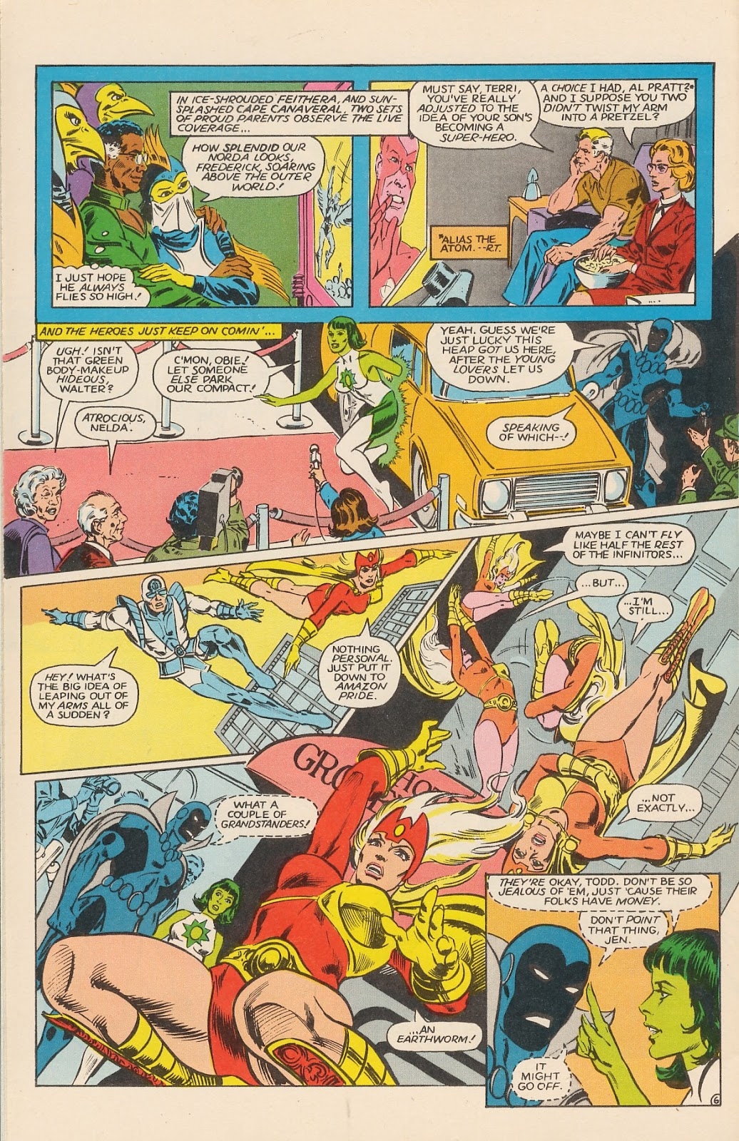 Infinity Inc. (1984) issue 12 - Page 10