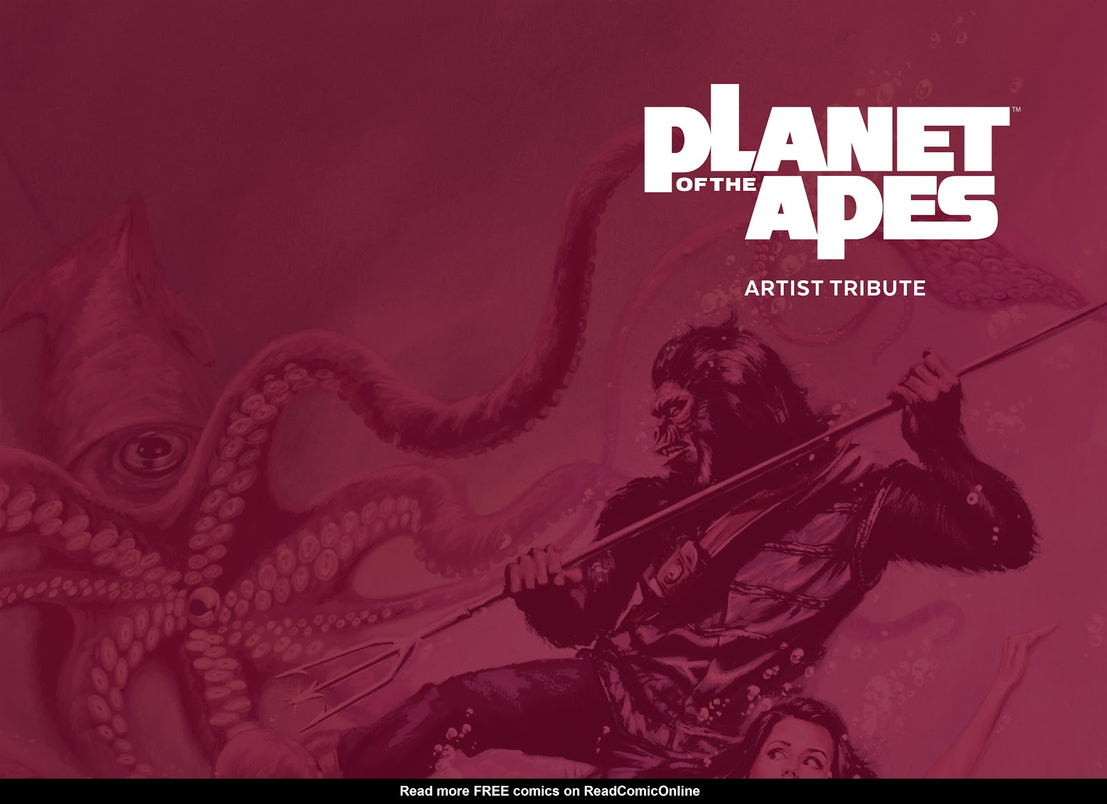 Read online Planet of the Apes Artist Tribute comic -  Issue # TPB - 4
